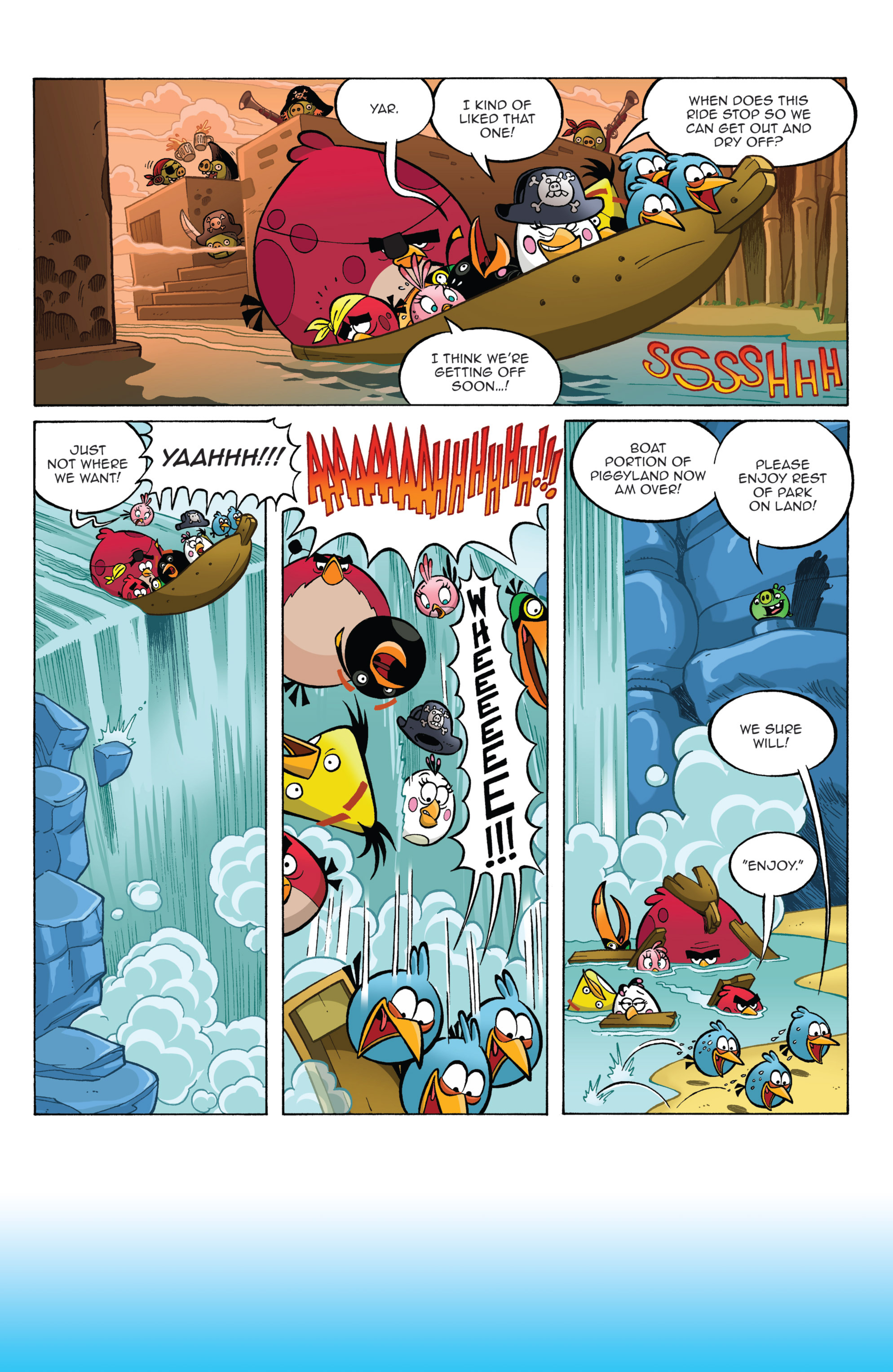 Read online Angry Birds Comics (2014) comic -  Issue #2 - 24