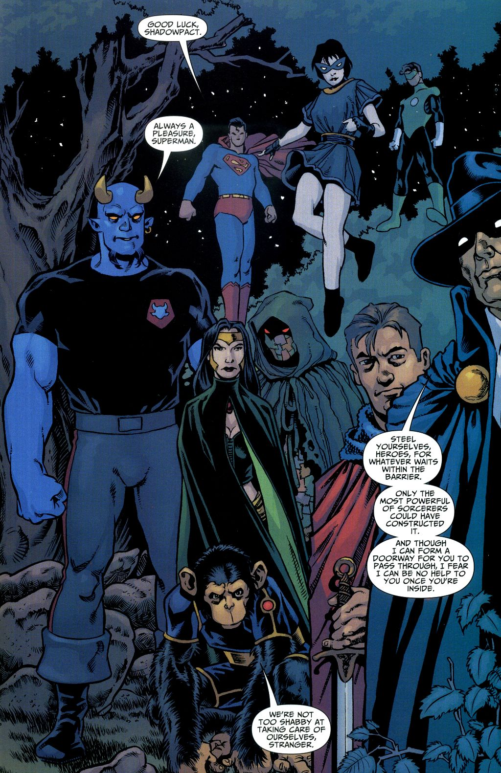 Read online Shadowpact comic -  Issue #1 - 16