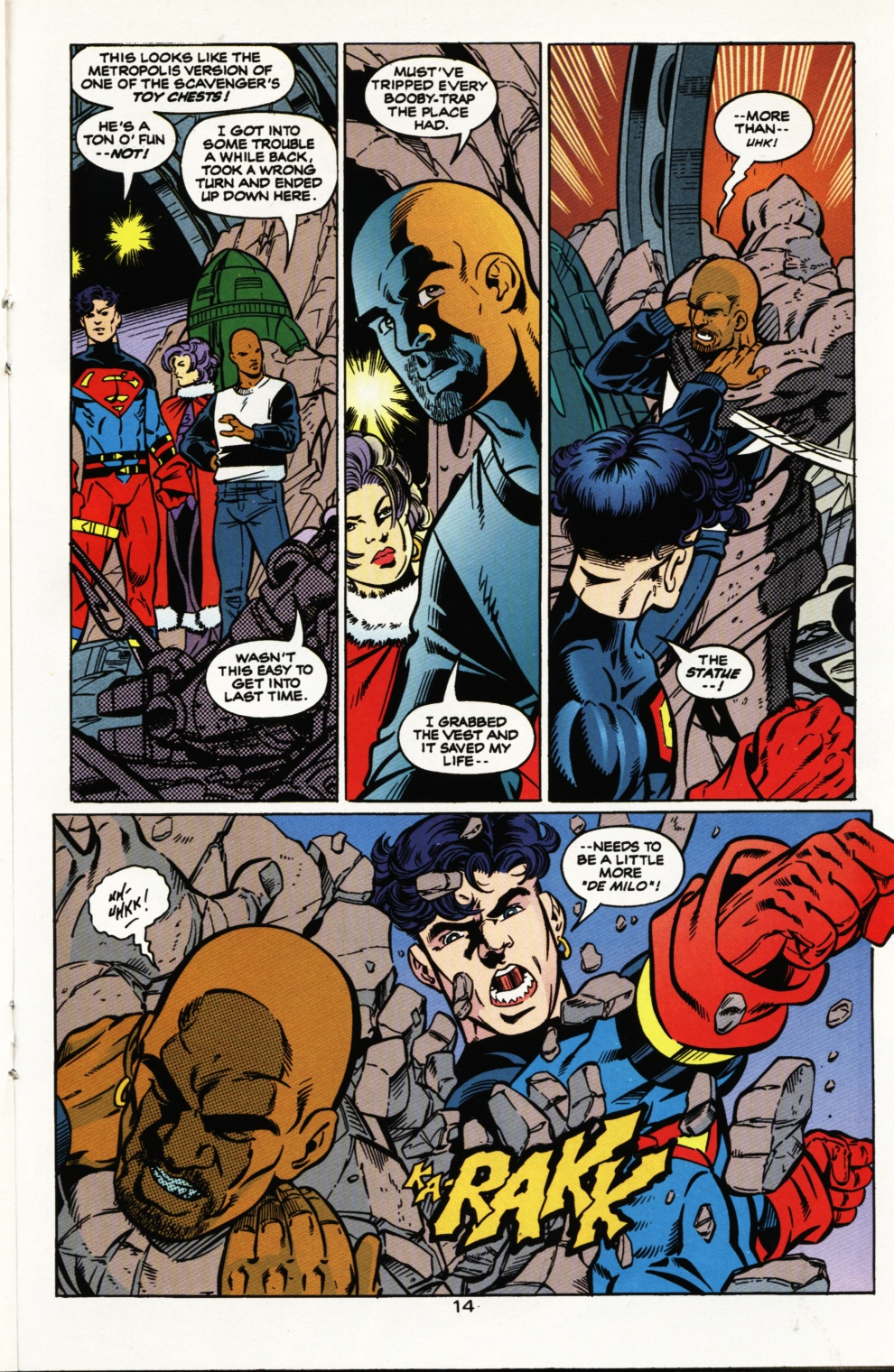 Read online Superboy & The Ravers comic -  Issue #5 - 15