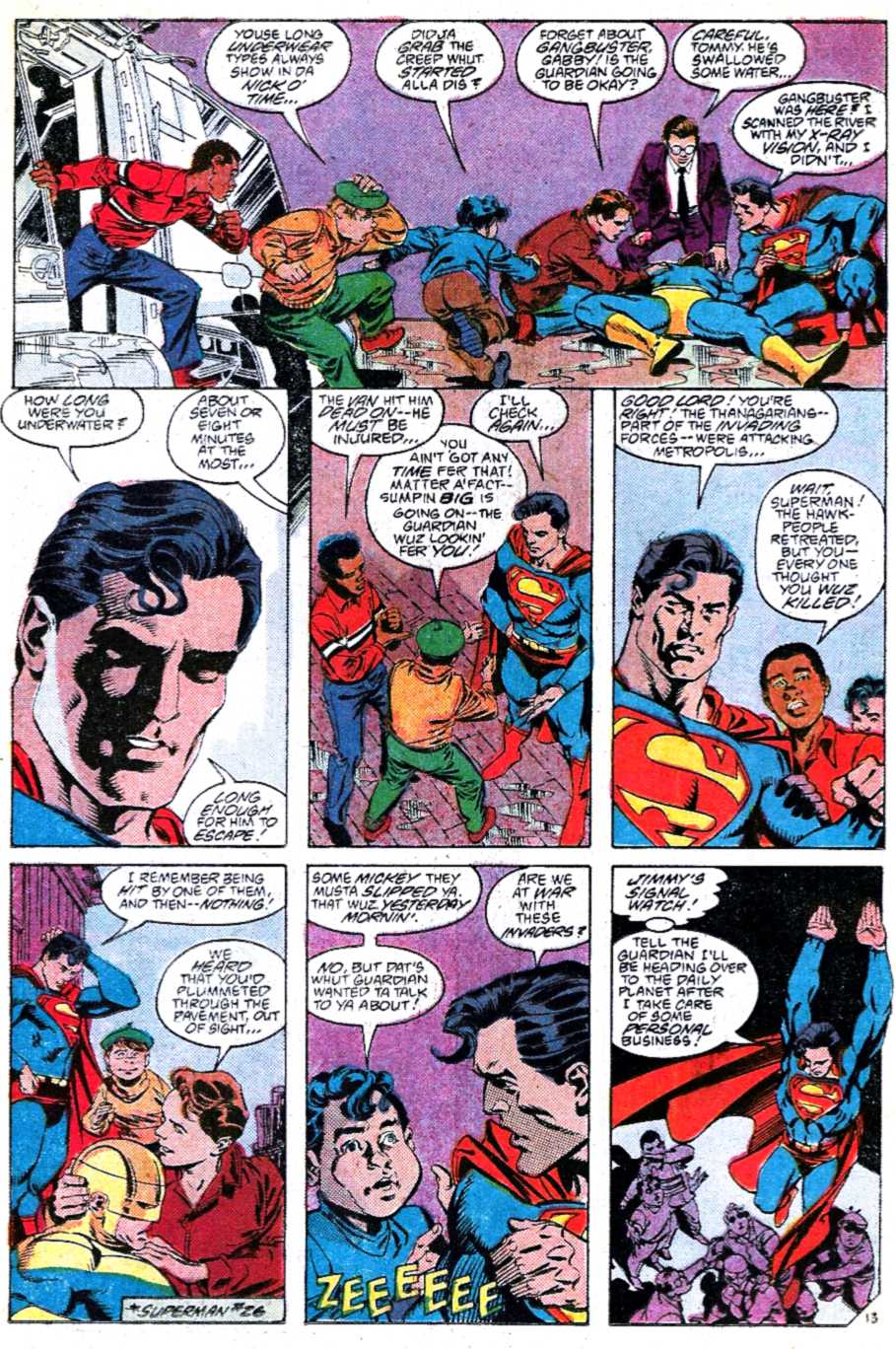 Read online Adventures of Superman (1987) comic -  Issue #449 - 13