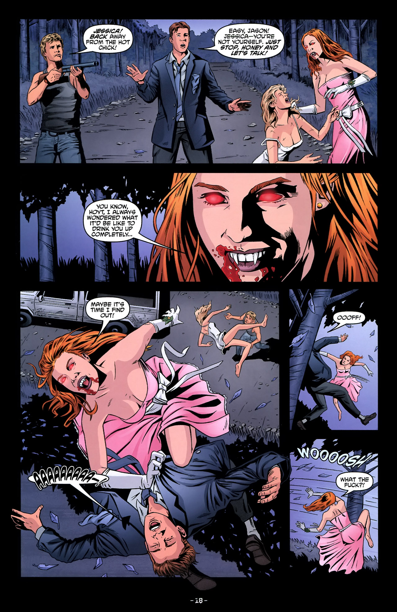 Read online True Blood: Tainted Love comic -  Issue #2 - 22