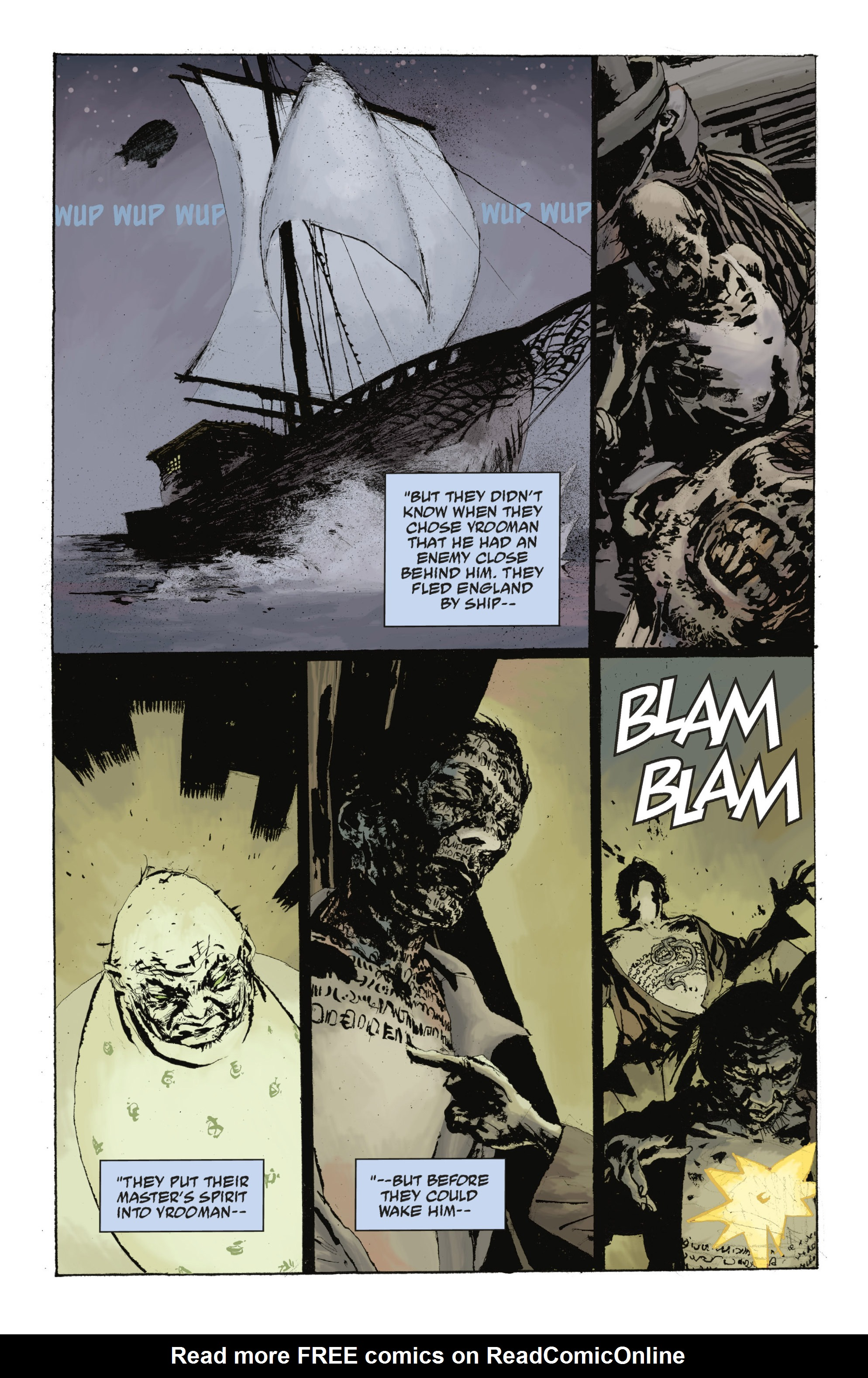 Read online Abe Sapien: The Drowning comic -  Issue #Abe Sapien: The Drowning _TPB - 104