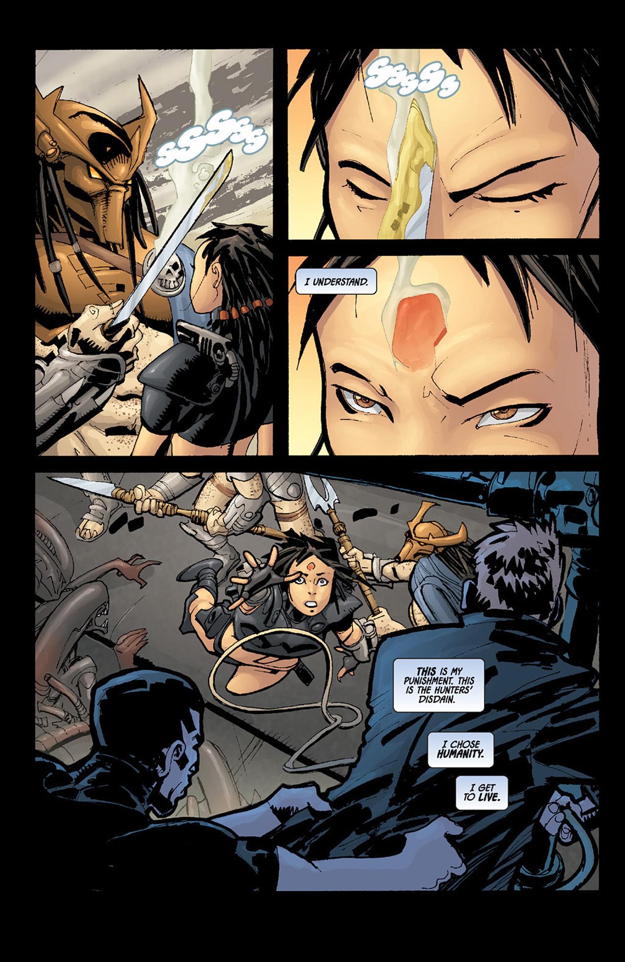 Read online Aliens vs. Predator: Three World War comic -  Issue #6 - 22