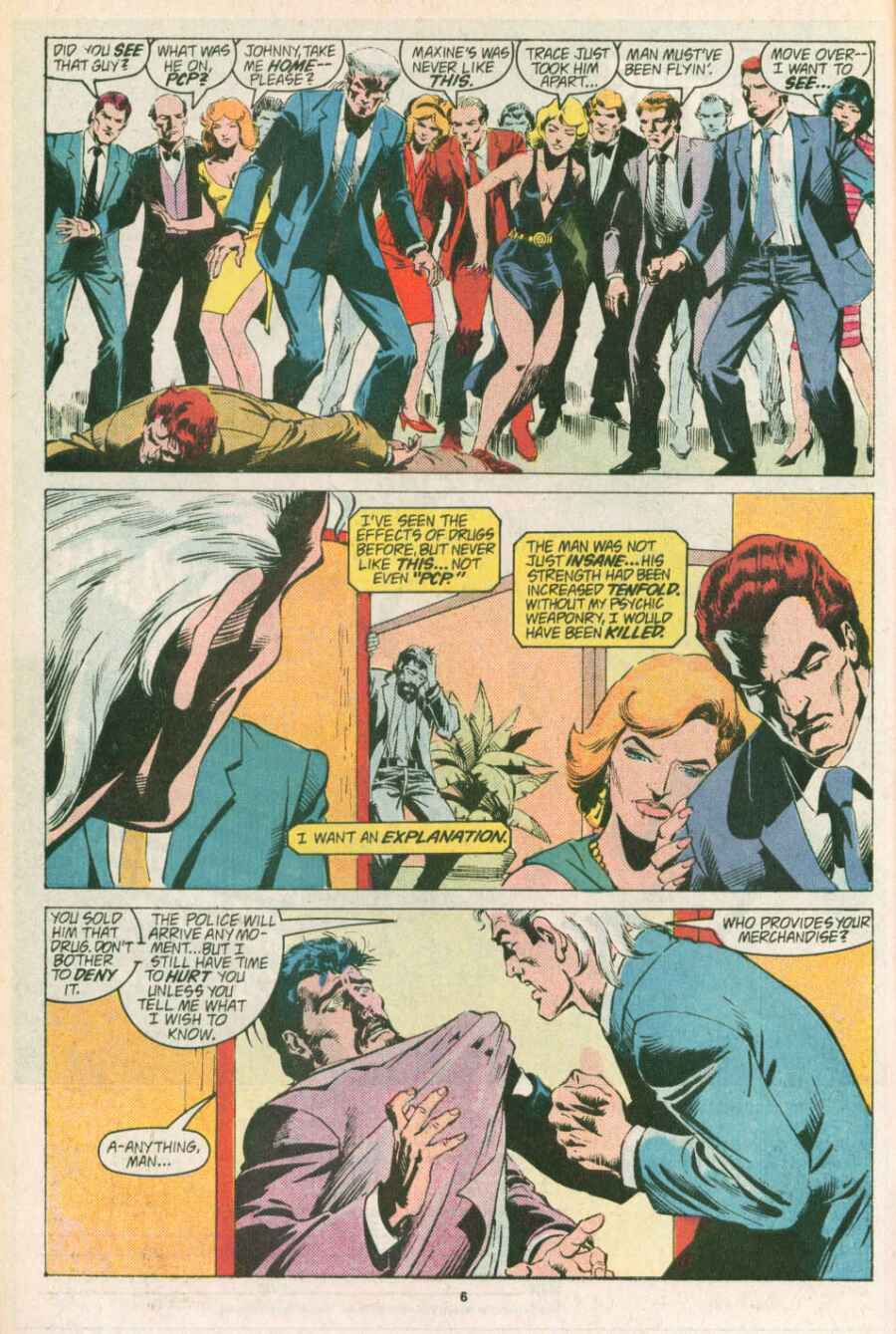 Read online Justice (1986) comic -  Issue #13 - 7