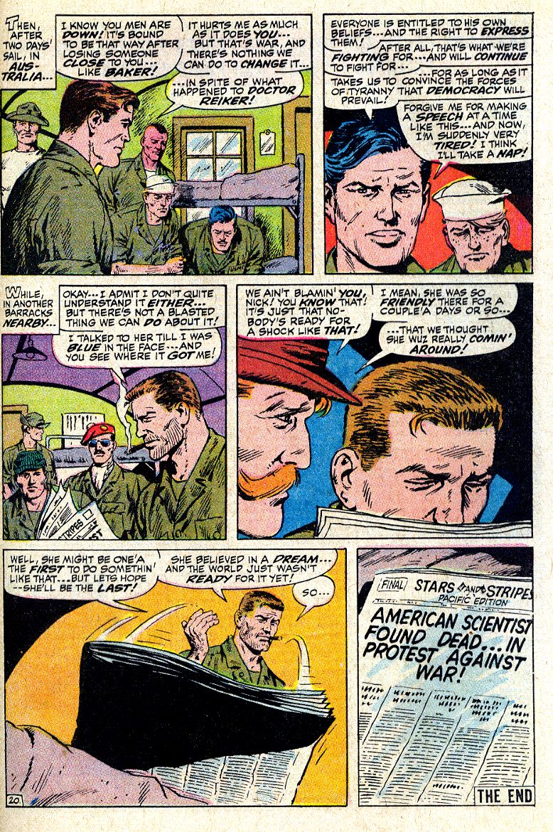Read online Sgt. Fury comic -  Issue #64 - 29