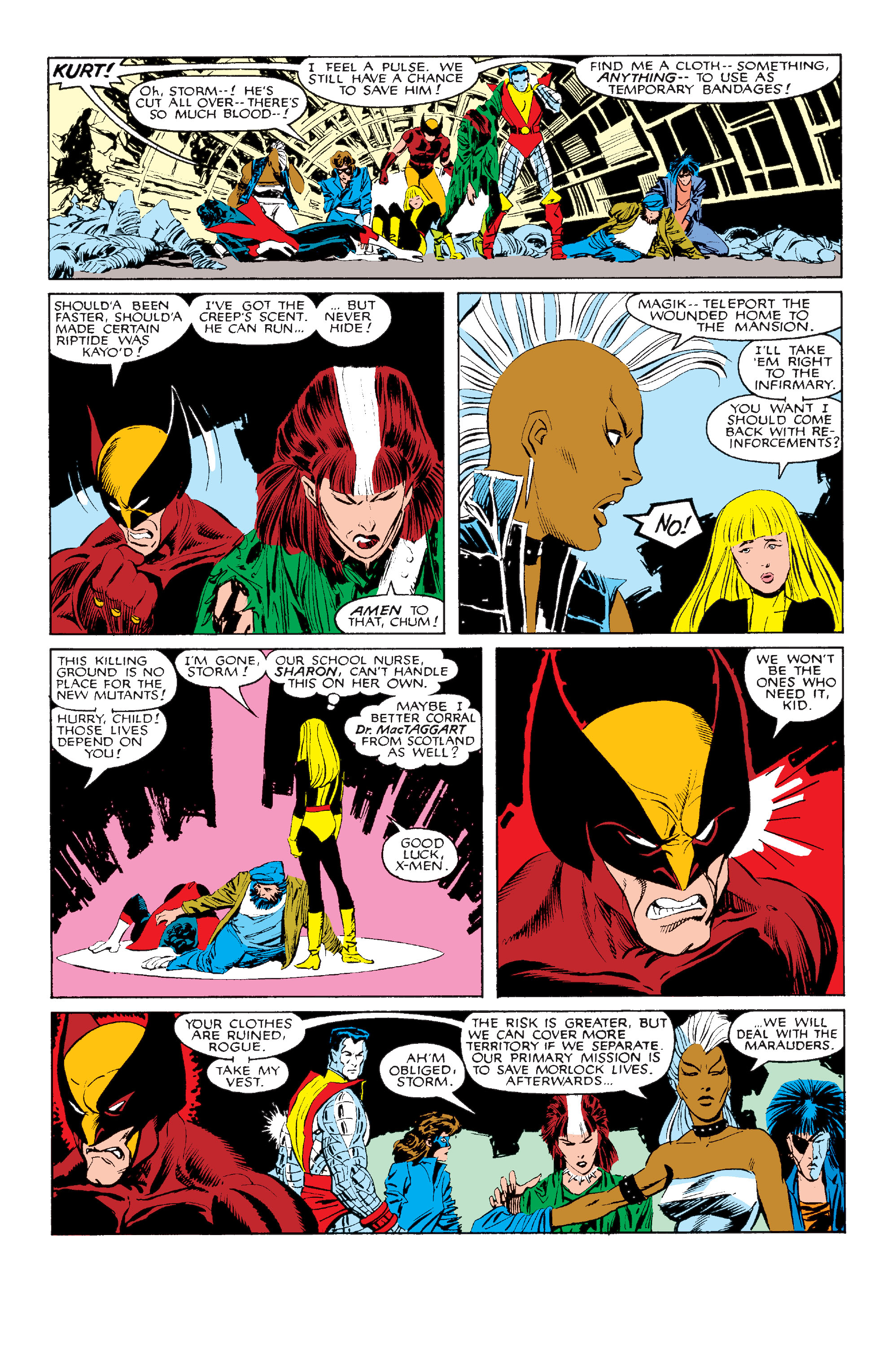 Read online Uncanny X-Men (1963) comic -  Issue #211 - 14