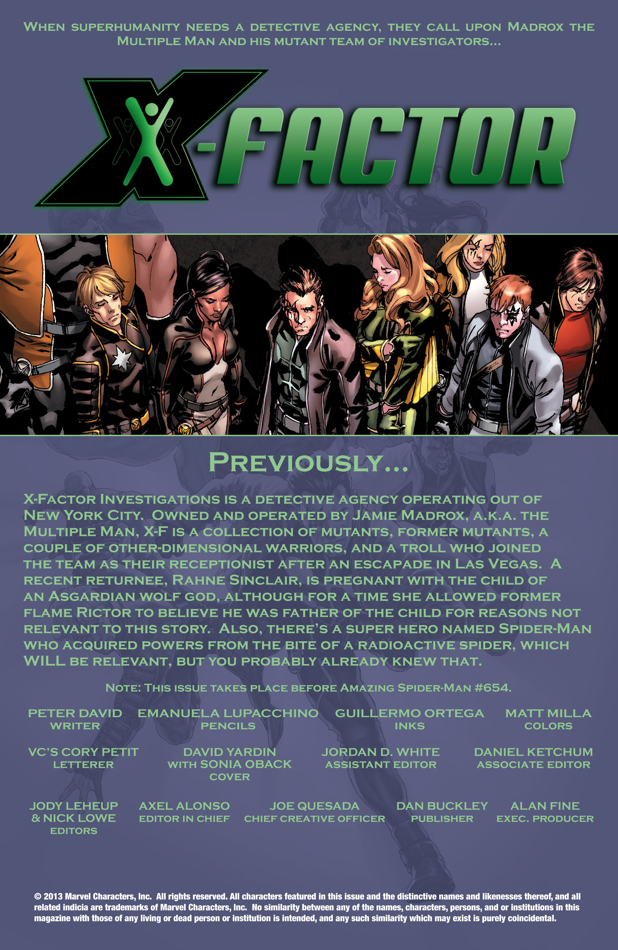 Read online X-Factor (1986) comic -  Issue #216 - 2