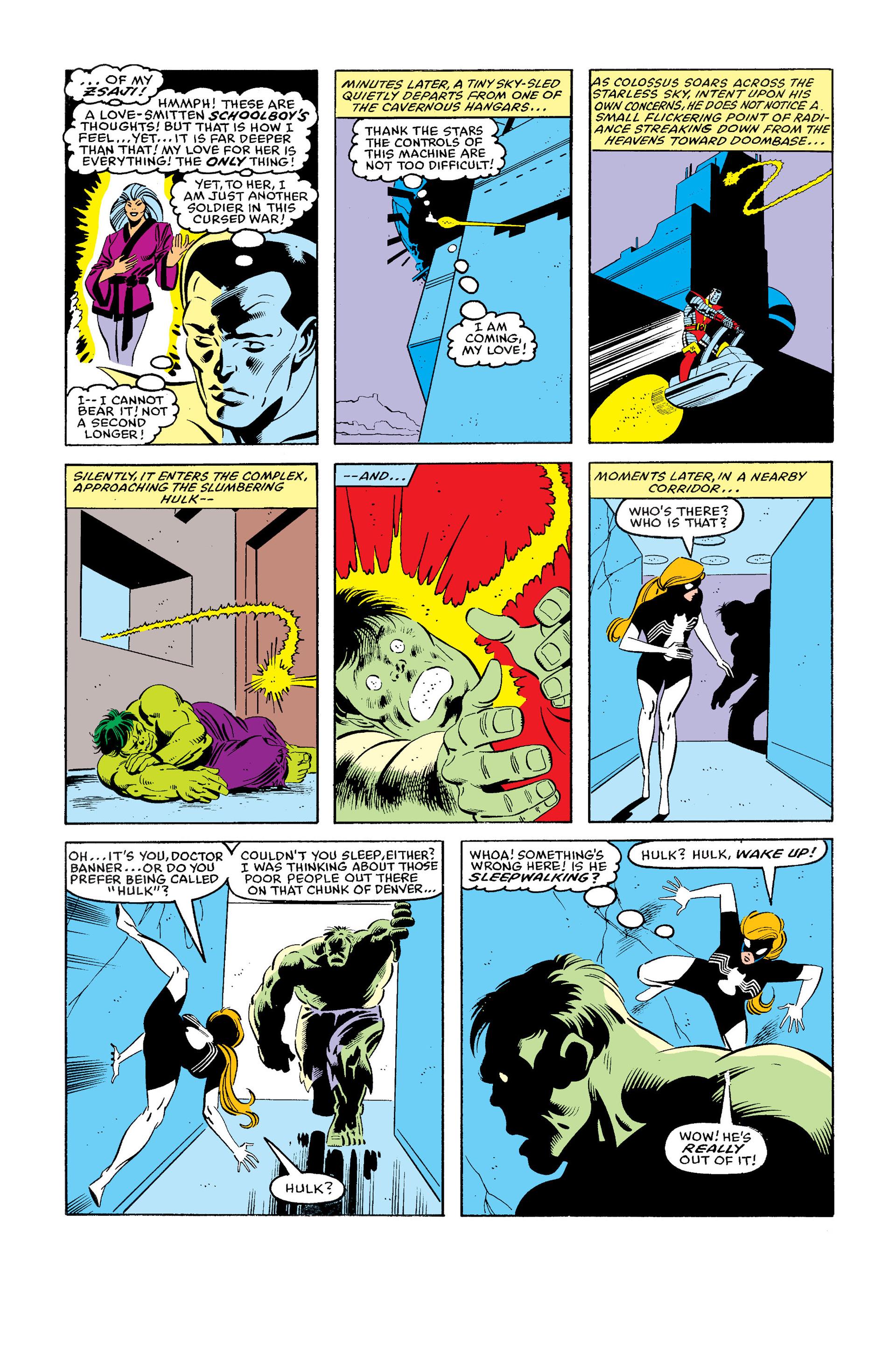 Read online Secret Wars (1985) comic -  Issue #11 - 11
