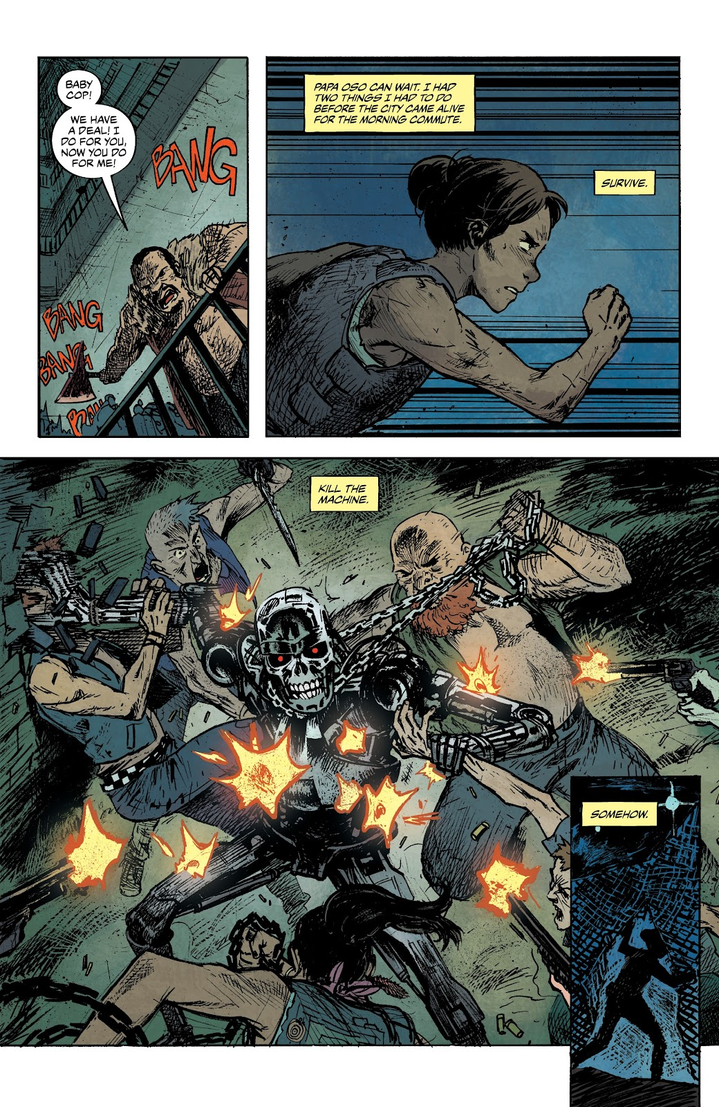 Read online The Terminator: Sector War comic -  Issue #3 - 19