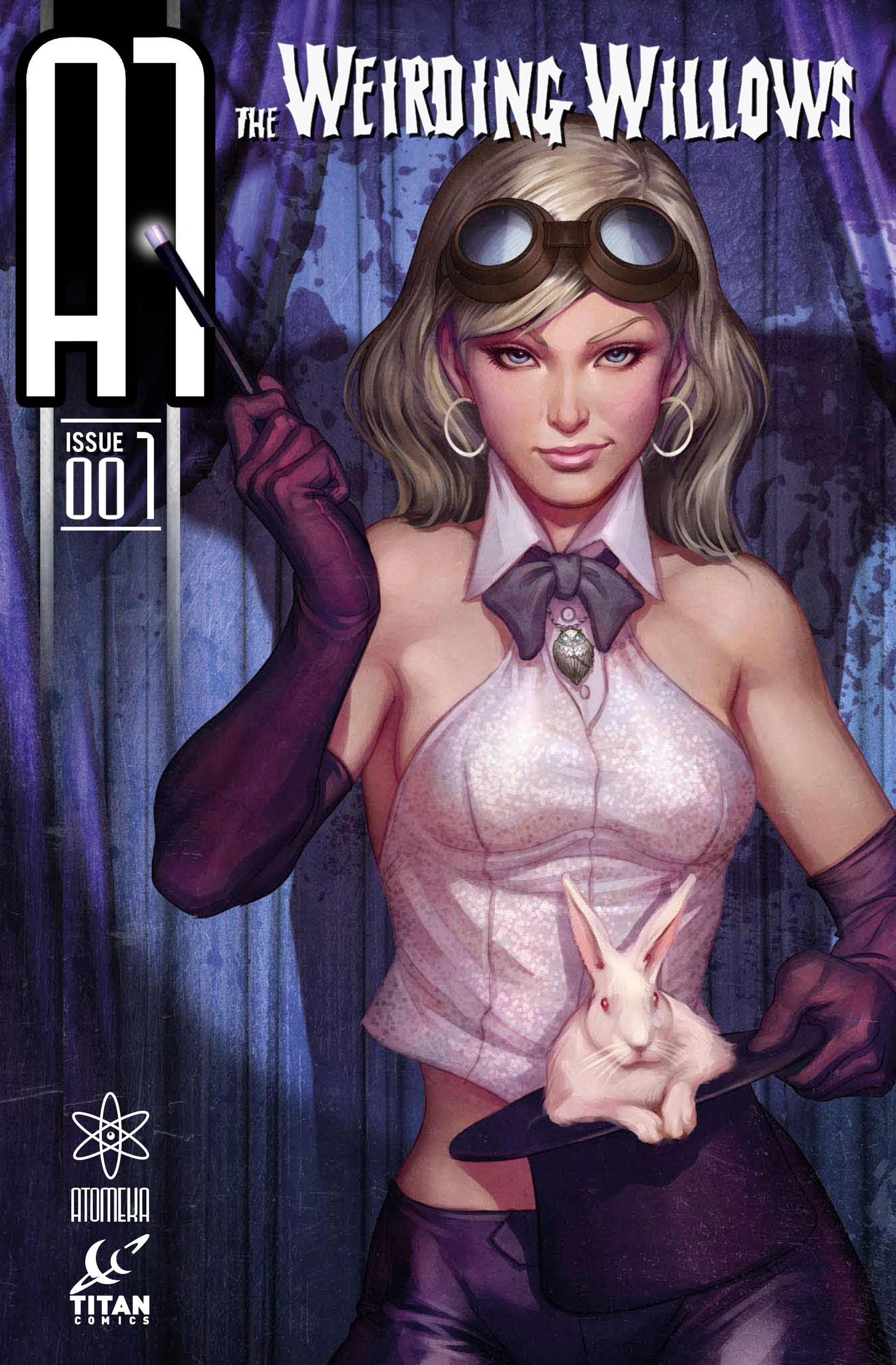 Read online A1 Presents The Weirding Willows comic -  Issue #A1 Presents The Weirding Willows Full - 1