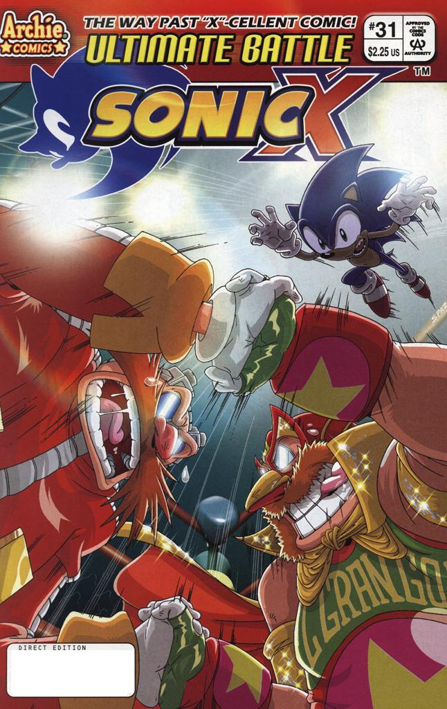 Read online Sonic X comic -  Issue #31 - 1