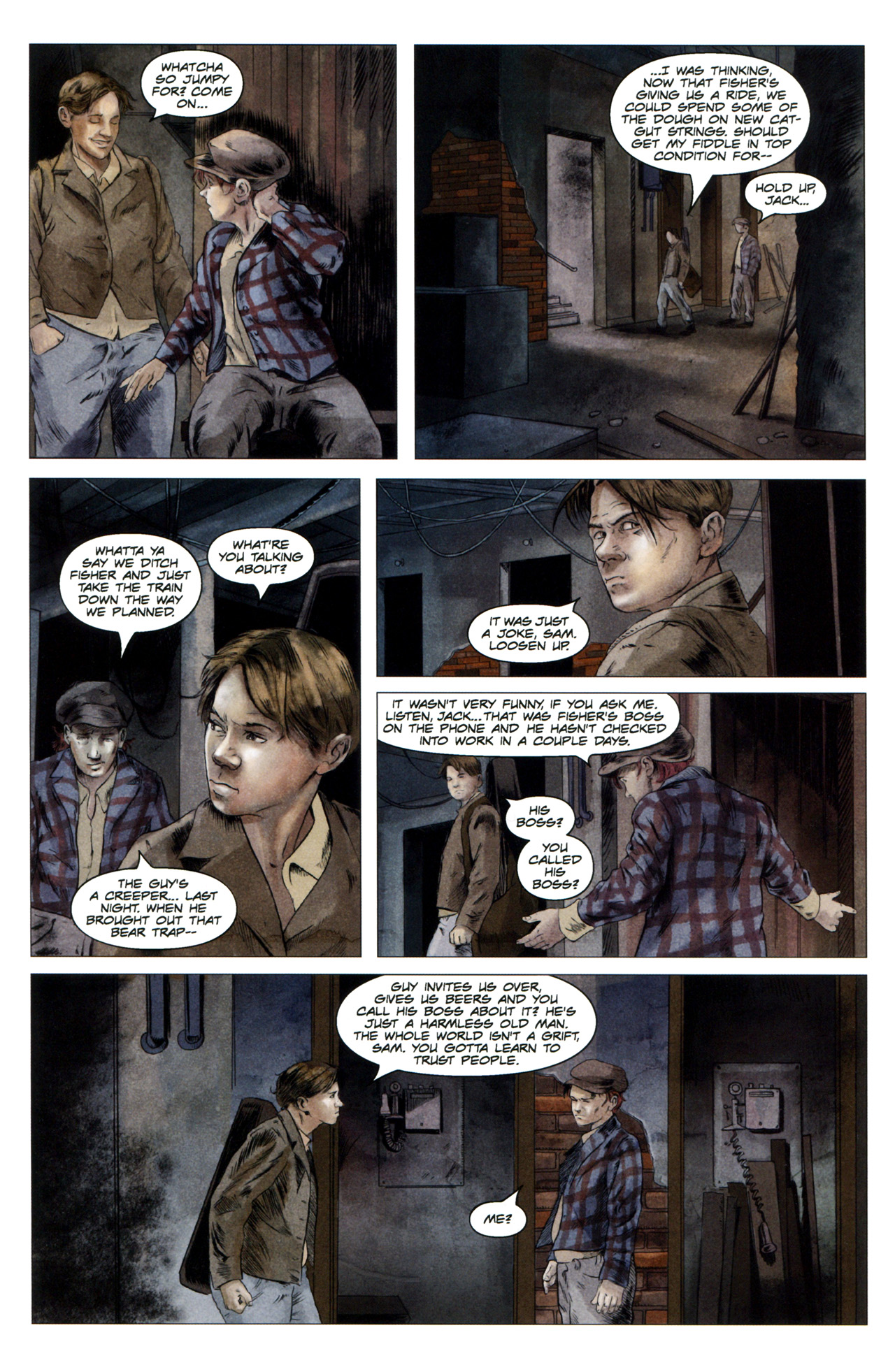 Read online Severed comic -  Issue #4 - 5