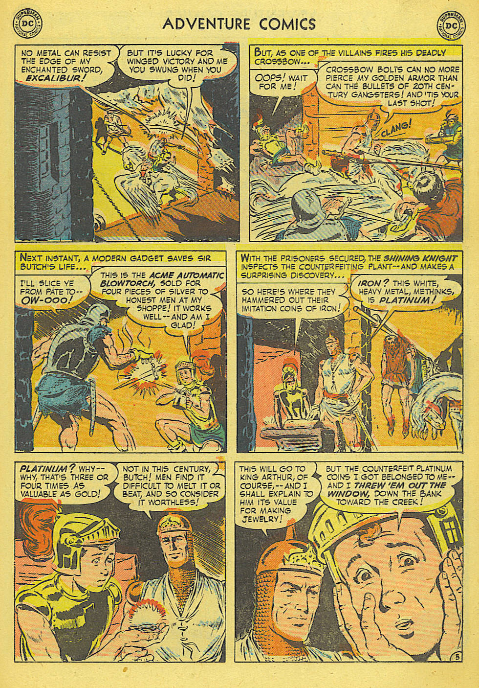 Read online Adventure Comics (1938) comic -  Issue #165 - 18