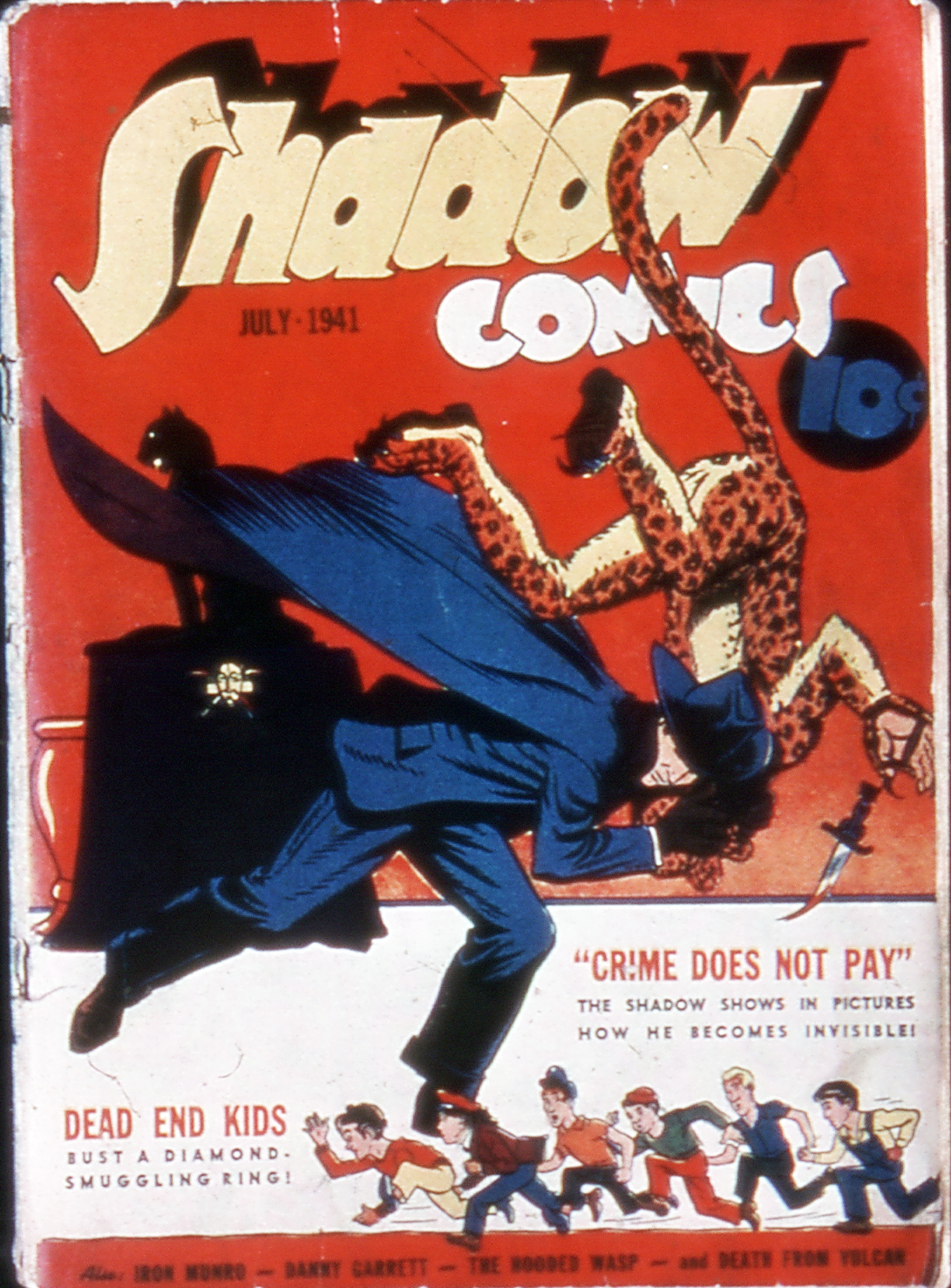 Read online Shadow Comics comic -  Issue #11 - 1