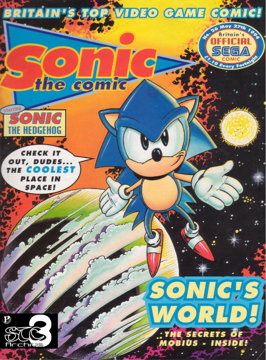 Read online Sonic the Comic comic -  Issue #26 - 1
