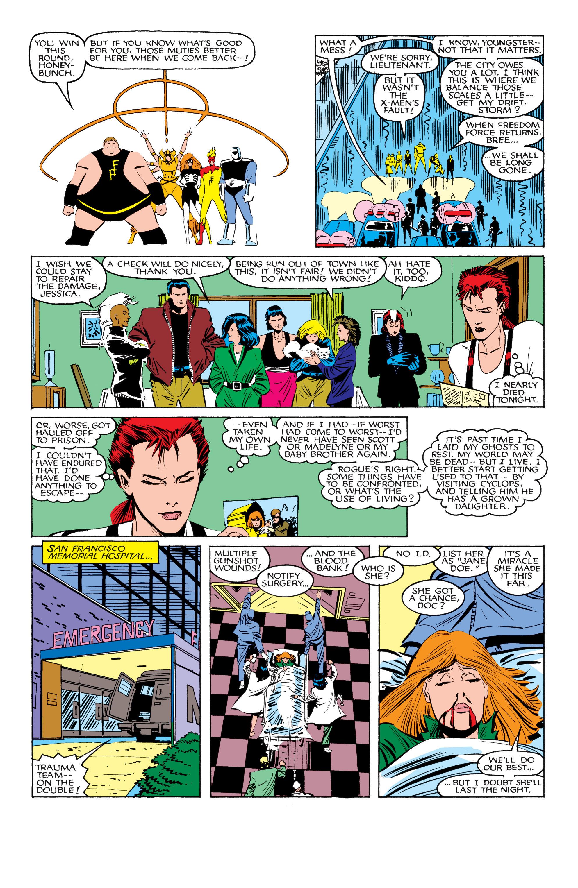 Read online Uncanny X-Men (1963) comic -  Issue #206 - 22