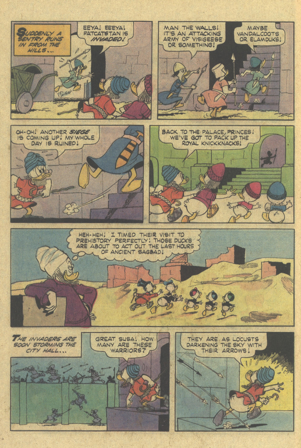 Read online Uncle Scrooge (1953) comic -  Issue #145 - 12