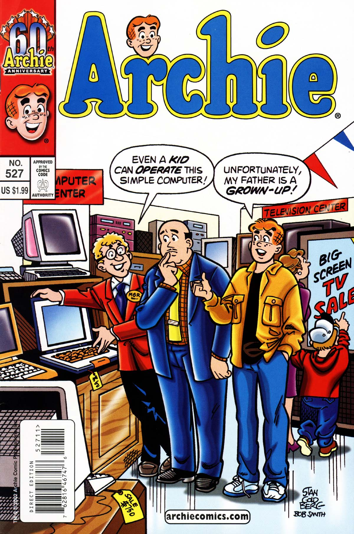 Read online Archie (1960) comic -  Issue #527 - 1