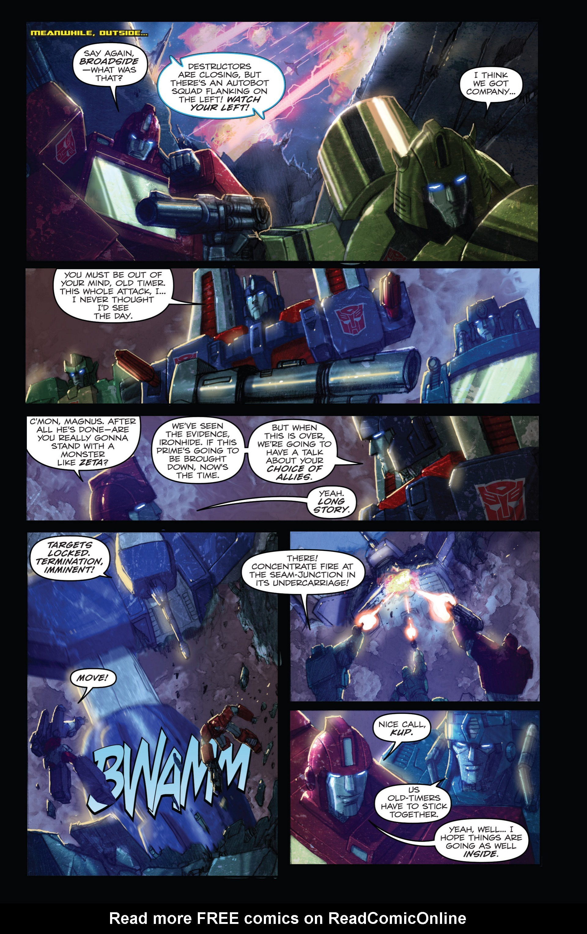 Read online Transformers: Autocracy comic -  Issue # Full - 75