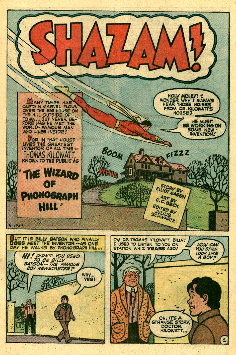 Read online Shazam! (1973) comic -  Issue #3 - 10