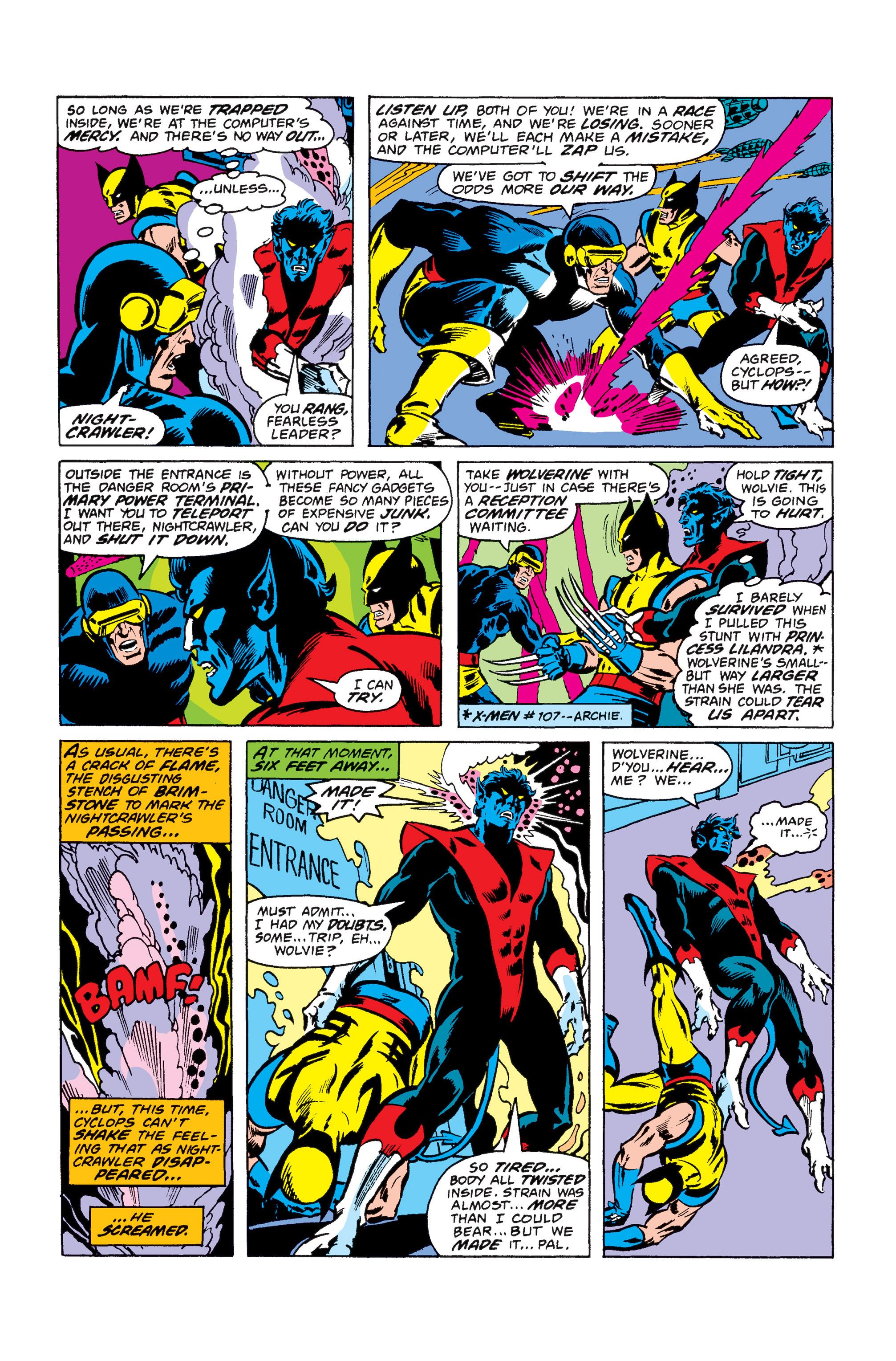 Read online Uncanny X-Men (1963) comic -  Issue #110 - 11