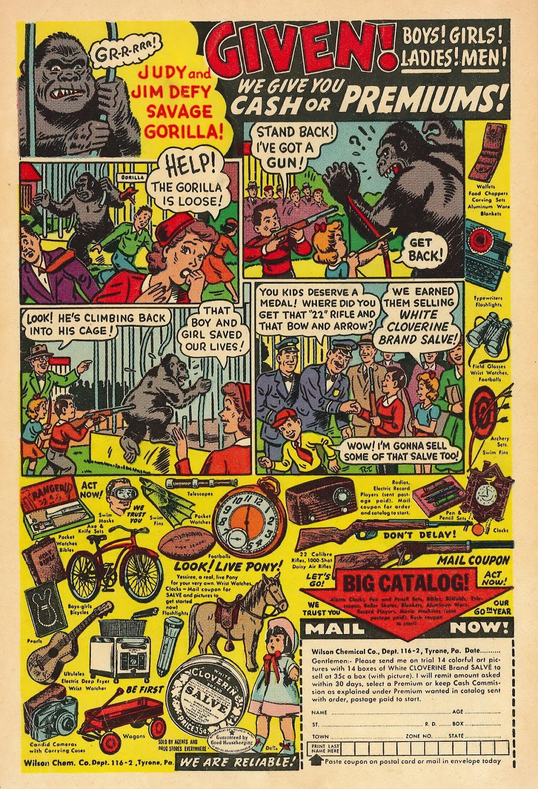 Read online Famous Funnies comic -  Issue #218 - 36