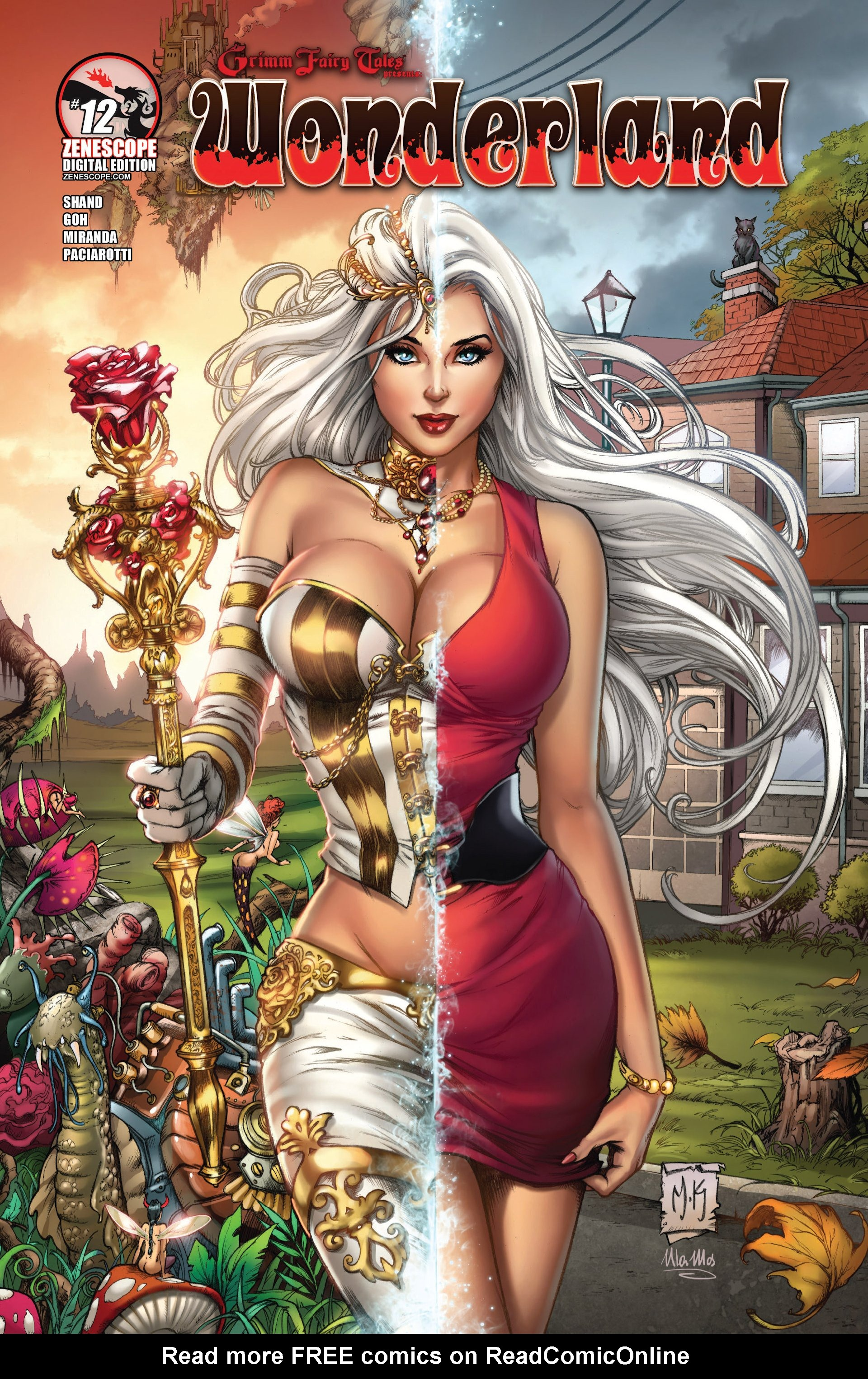 Grimm Fairy Tales presents Wonderland 12 Page 1