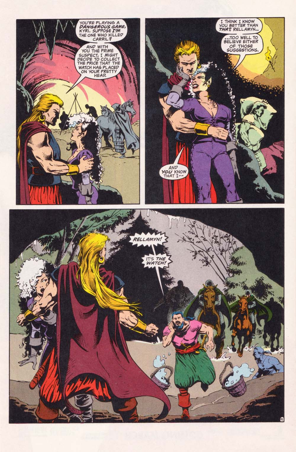 Read online Advanced Dungeons & Dragons comic -  Issue #28 - 9