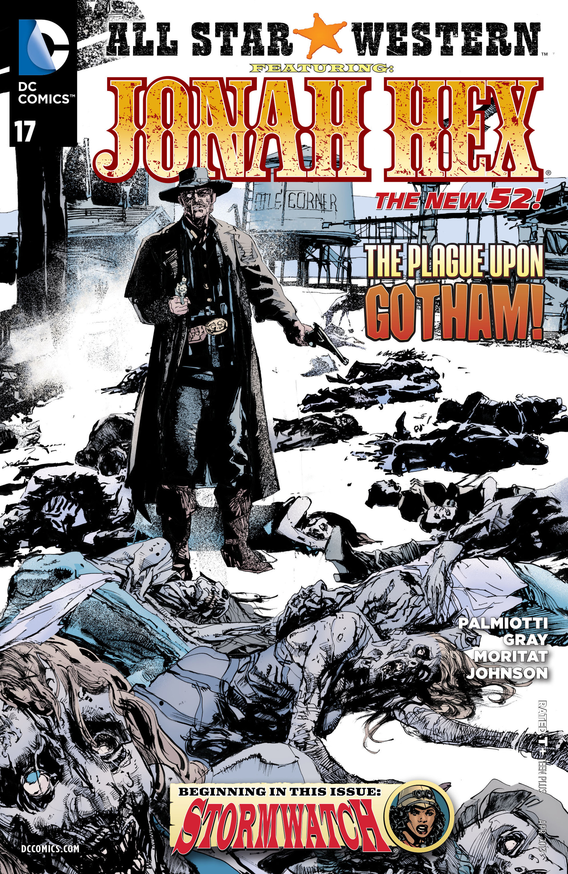 Read online All-Star Western (2011) comic -  Issue #17 - 1
