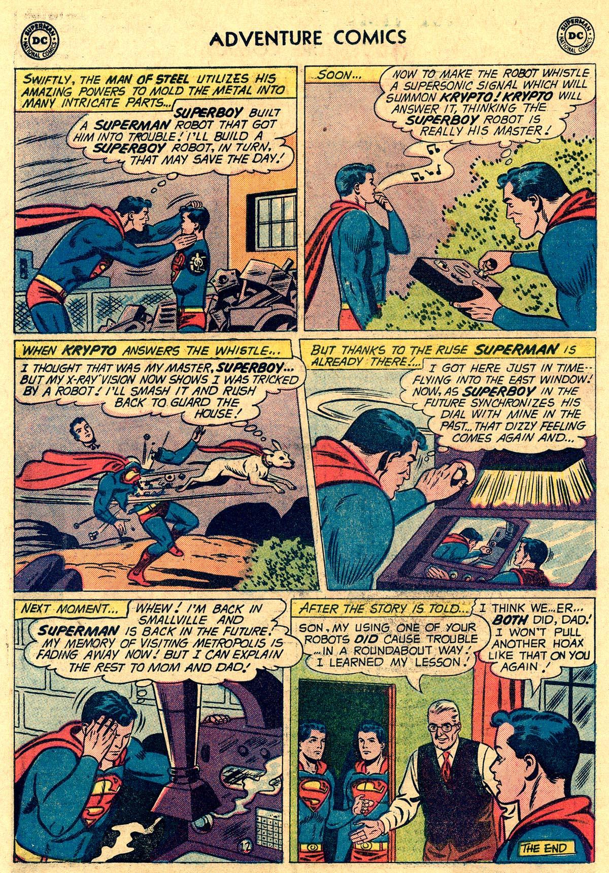 Read online Adventure Comics (1938) comic -  Issue #265 - 14