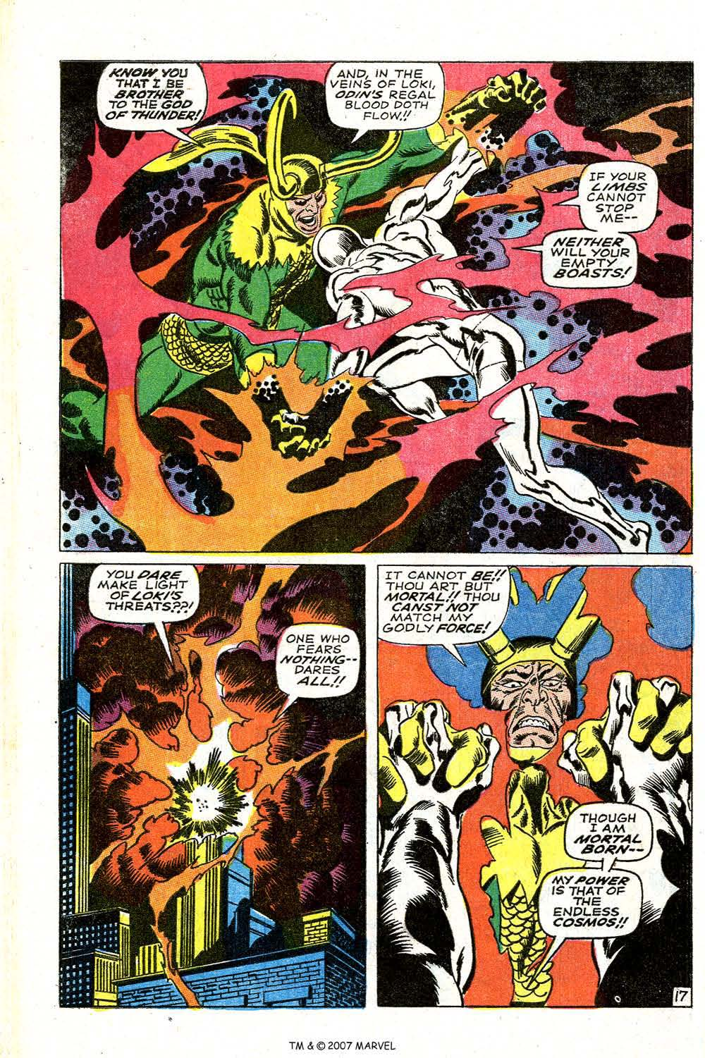 Read online Silver Surfer (1968) comic -  Issue #4 - 22