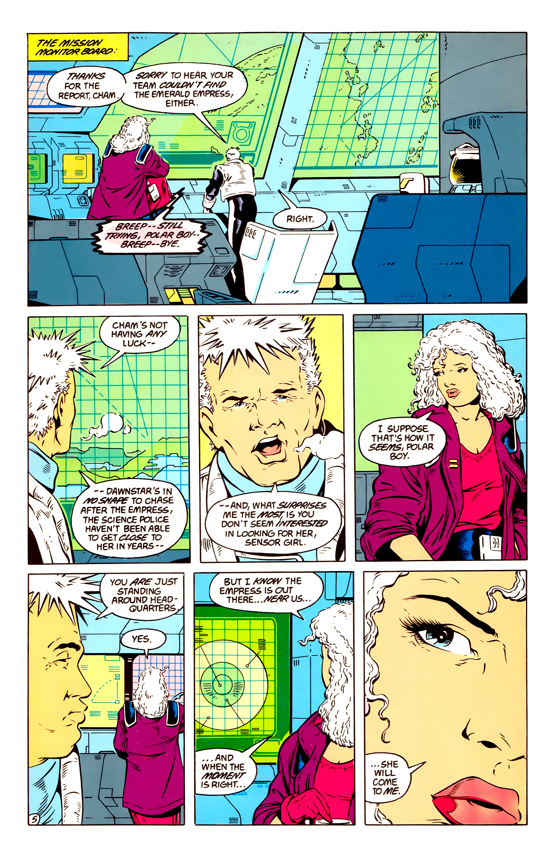 Legion of Super-Heroes (1984) 57 Page 5