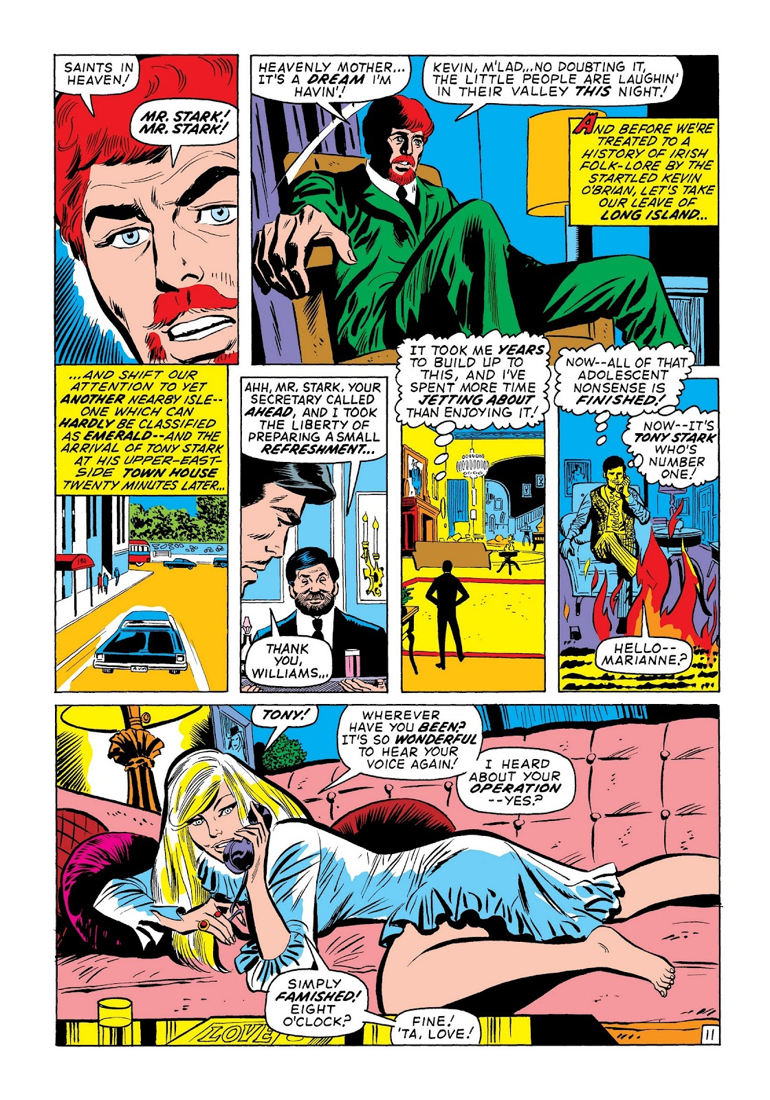 Read online Marvel Masterworks: The Invincible Iron Man comic -  Issue # TPB 7 (Part 3) - 40