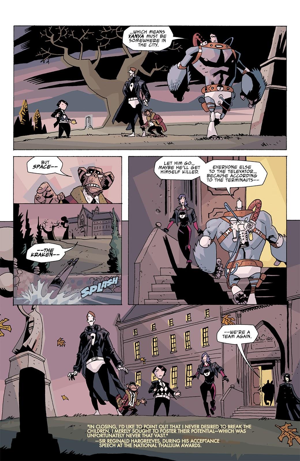 The Umbrella Academy: Apocalypse Suite issue 2 - Page 22