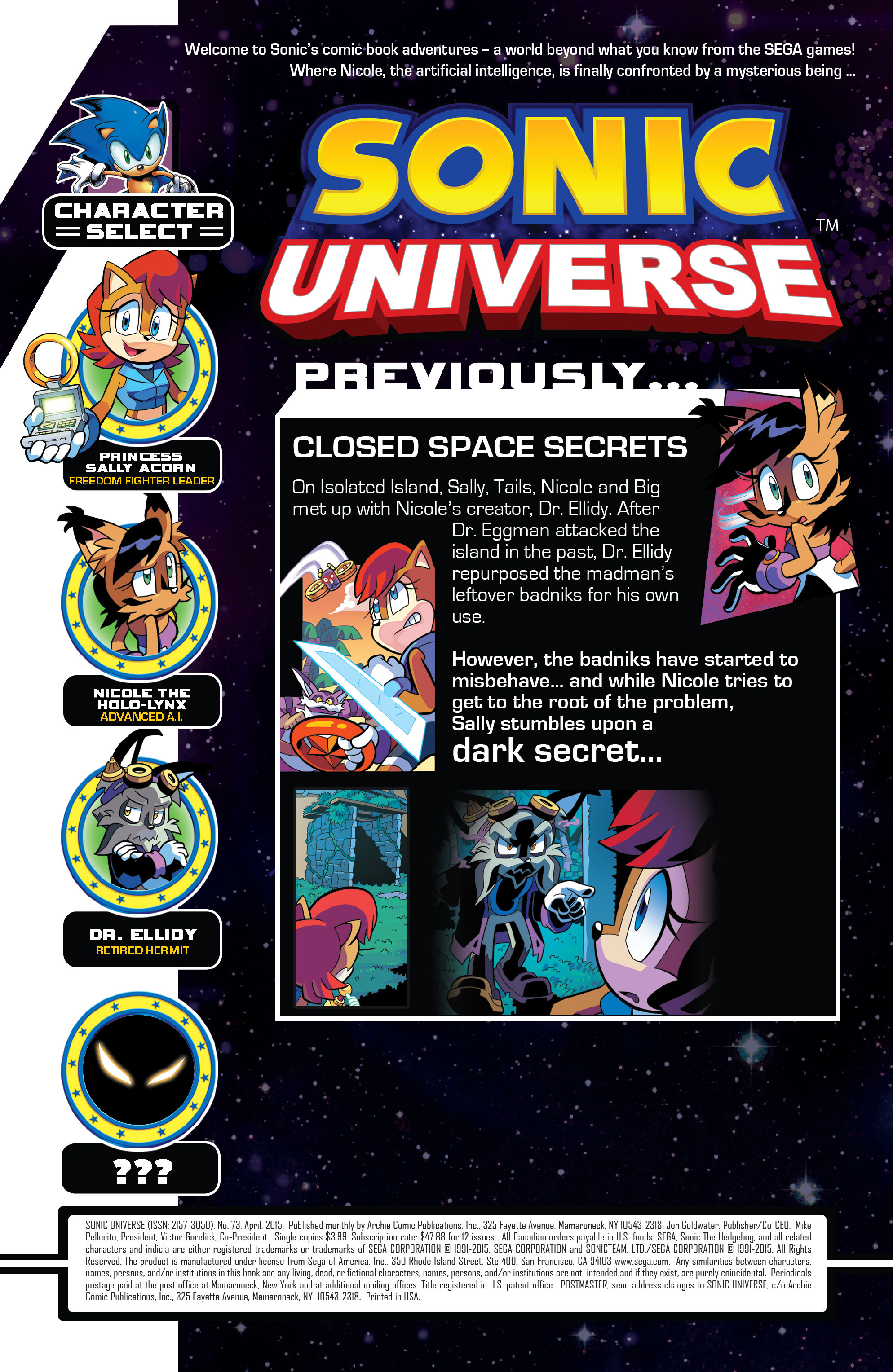 Read online Sonic Universe comic -  Issue #73 - 3