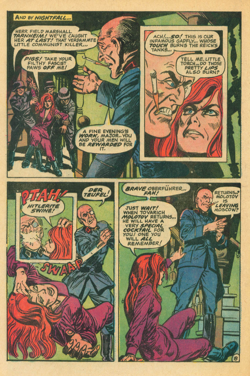 Read online Star Spangled War Stories (1952) comic -  Issue #172 - 8