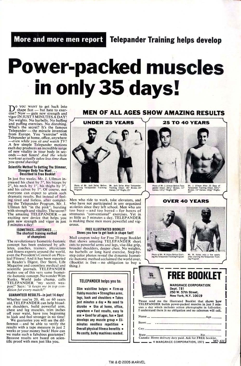 Uncanny X-Men (1963) issue 70 - Page 51