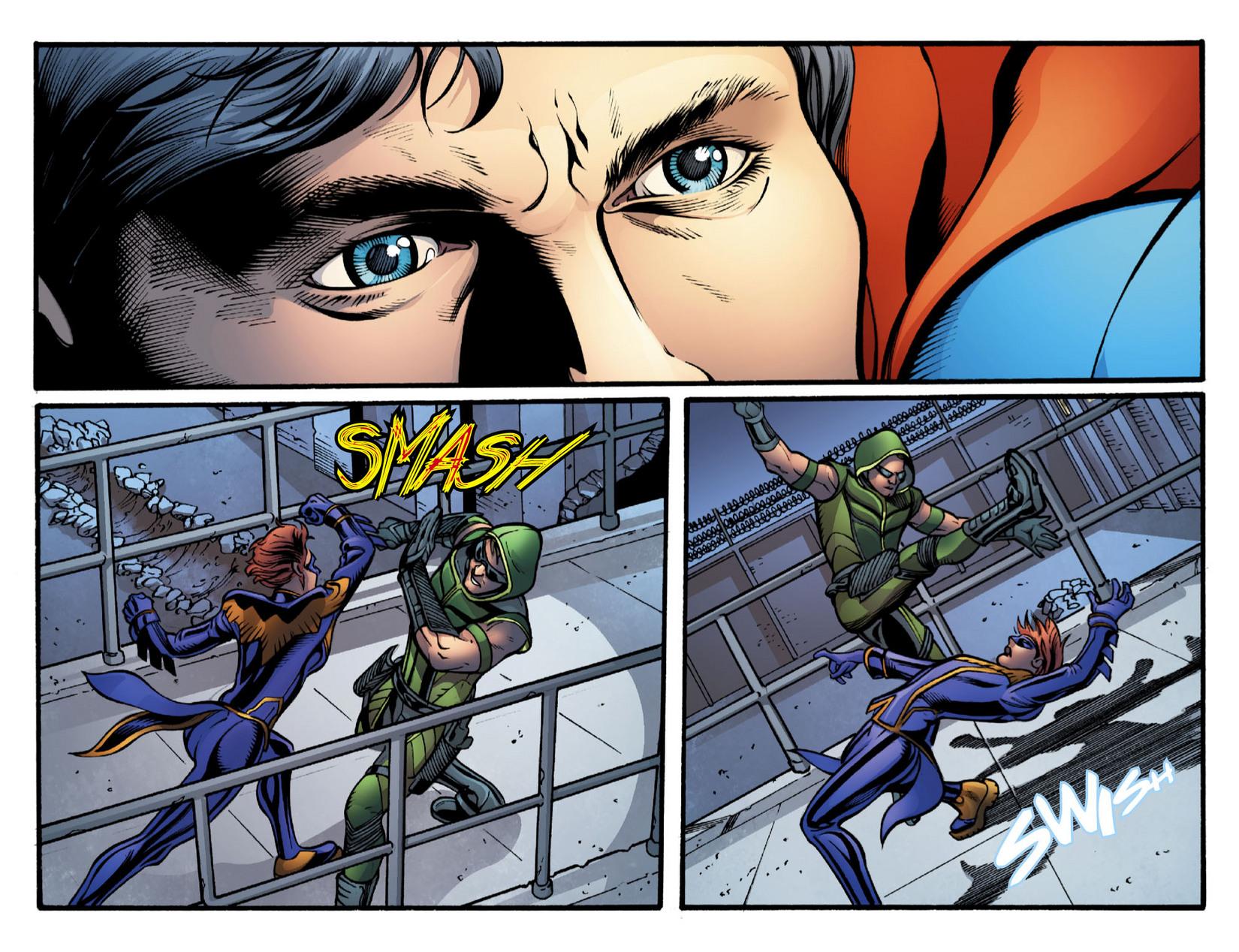 Read online Smallville: Season 11 comic -  Issue #16 - 19