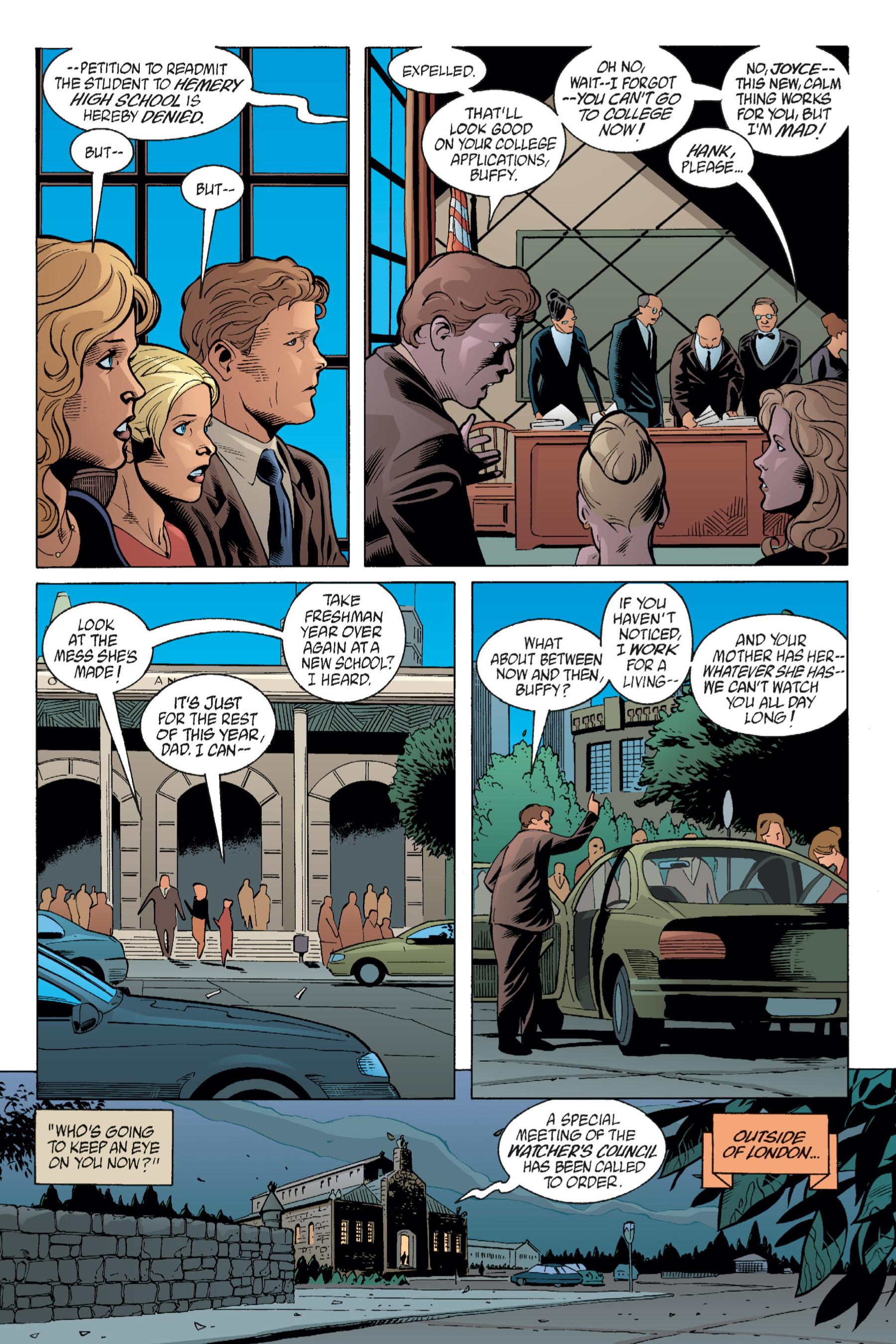 Read online Buffy the Vampire Slayer: Omnibus comic -  Issue # TPB 1 - 113