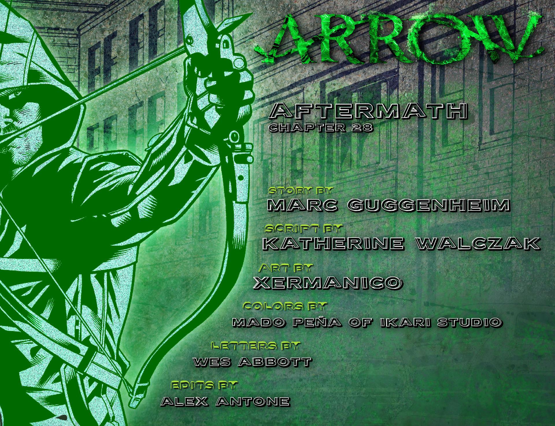 Read online Arrow [II] comic -  Issue #28 - 2