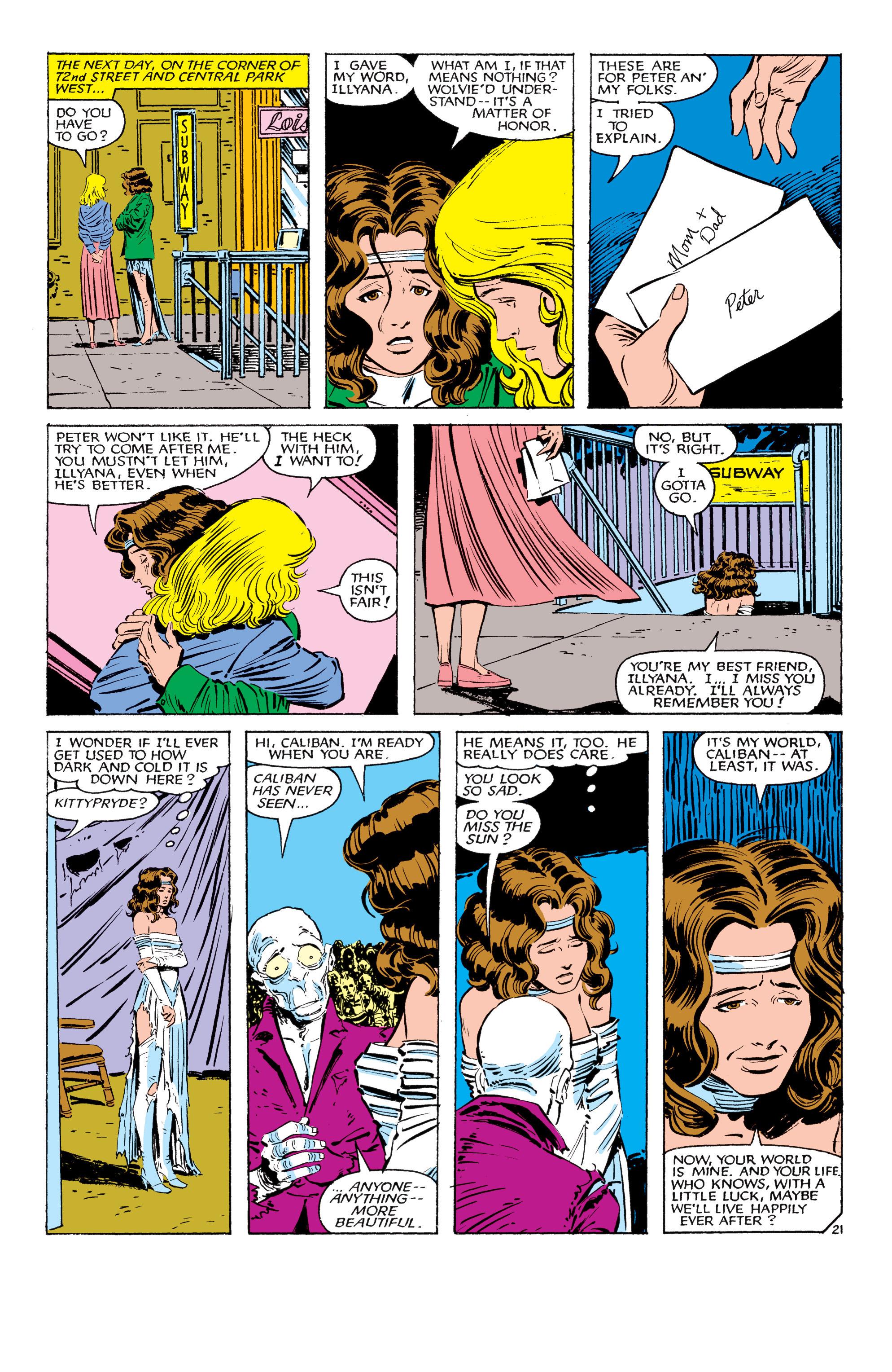 Read online Uncanny X-Men (1963) comic -  Issue #179 - 22
