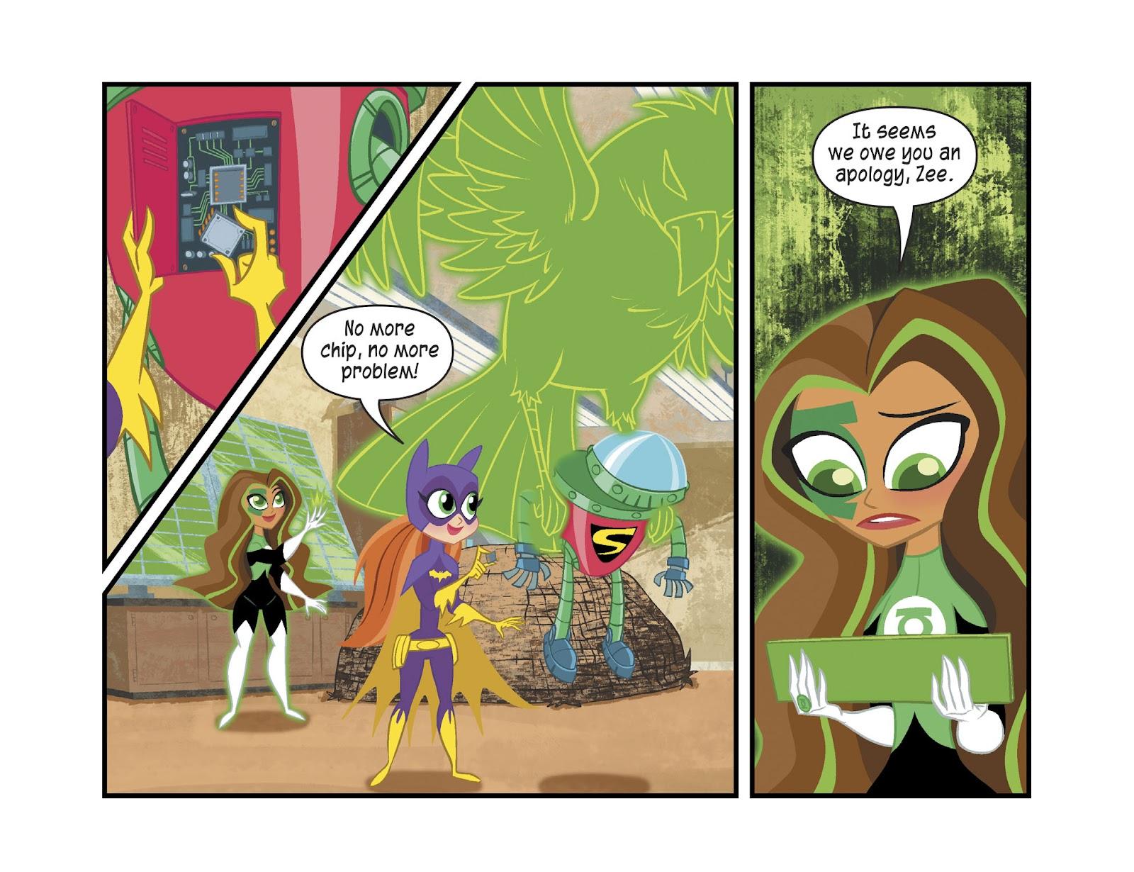 Read online DC Super Hero Girls: Weird Science comic -  Issue #13 - 14