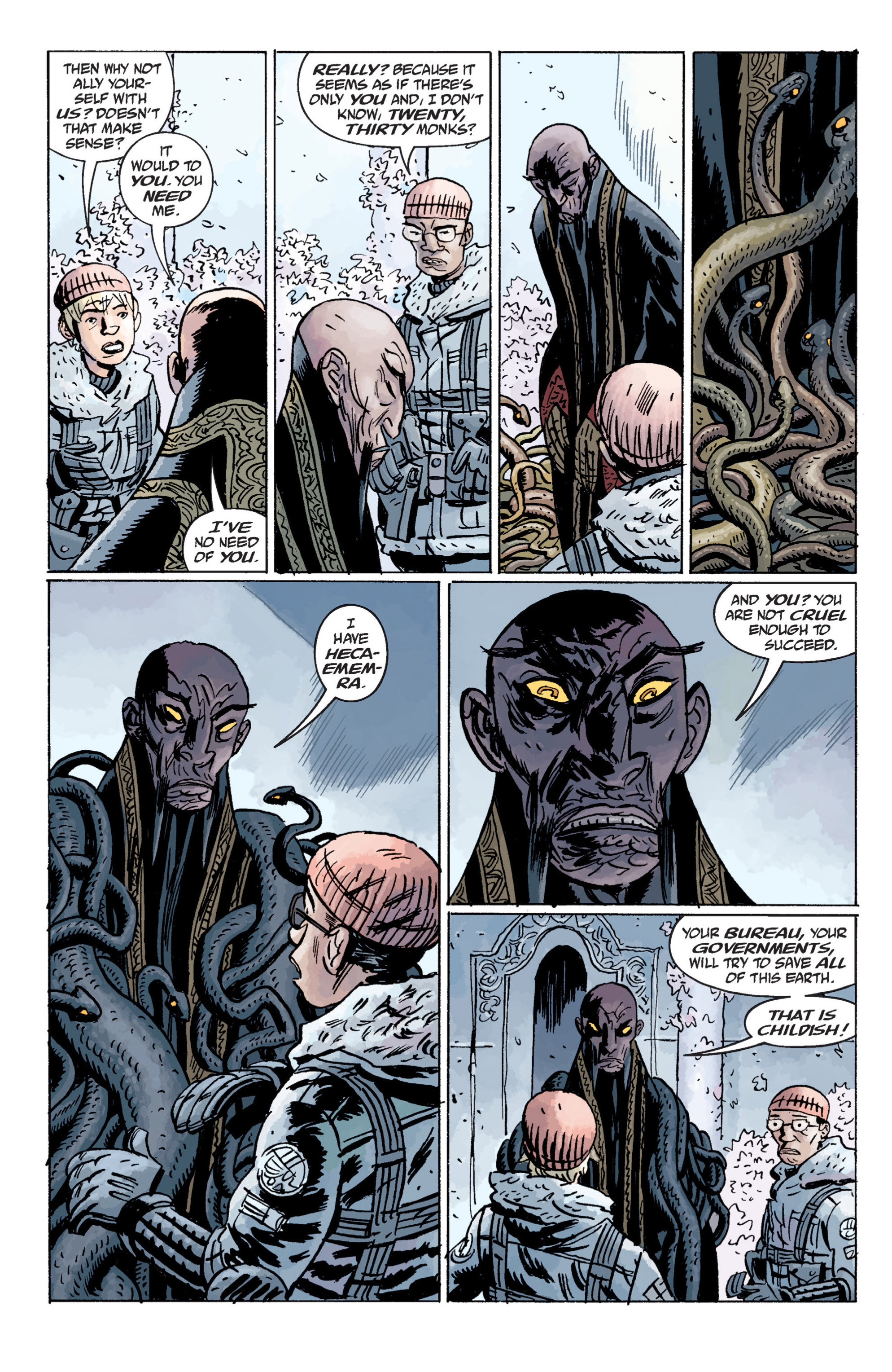 Read online B.P.R.D. (2003) comic -  Issue # TPB 11 - 102