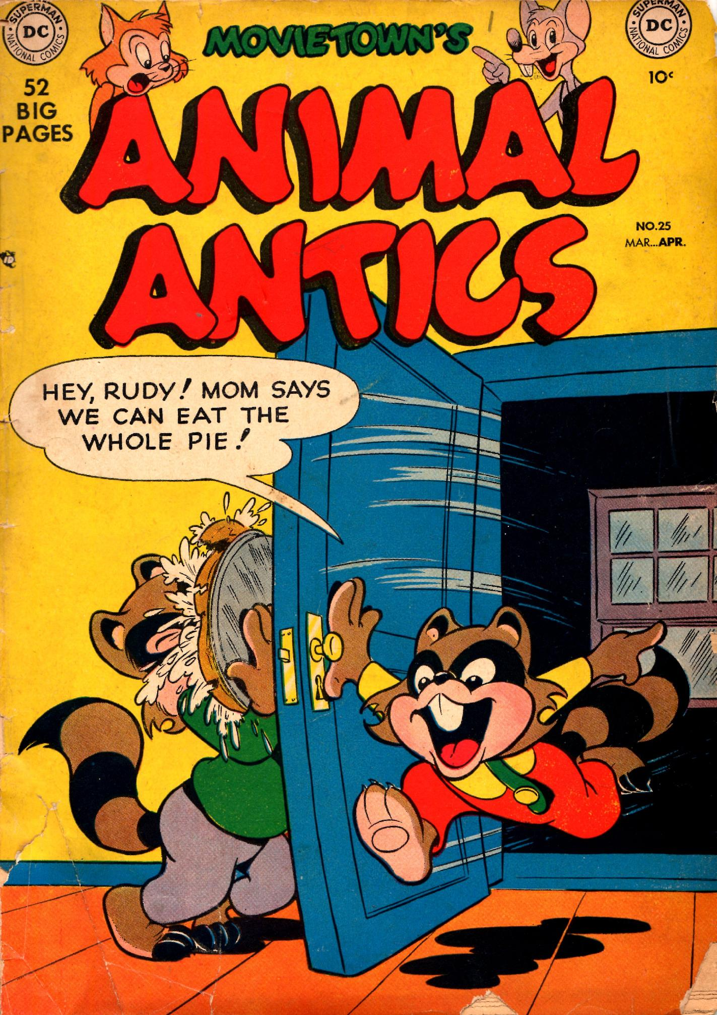 Read online Animal Antics comic -  Issue #25 - 1