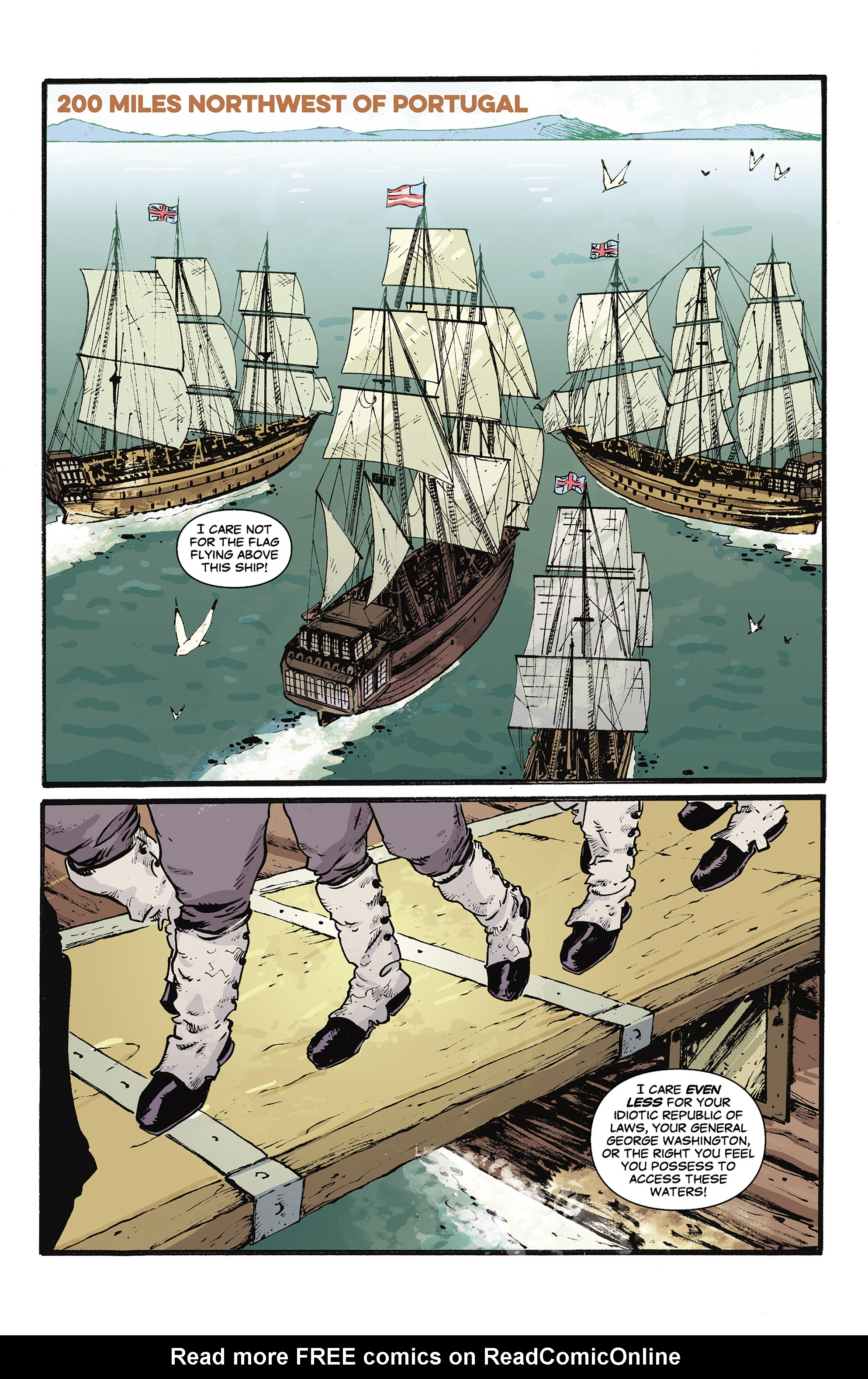 Read online Rebels: These Free and Independent States comic -  Issue #3 - 3