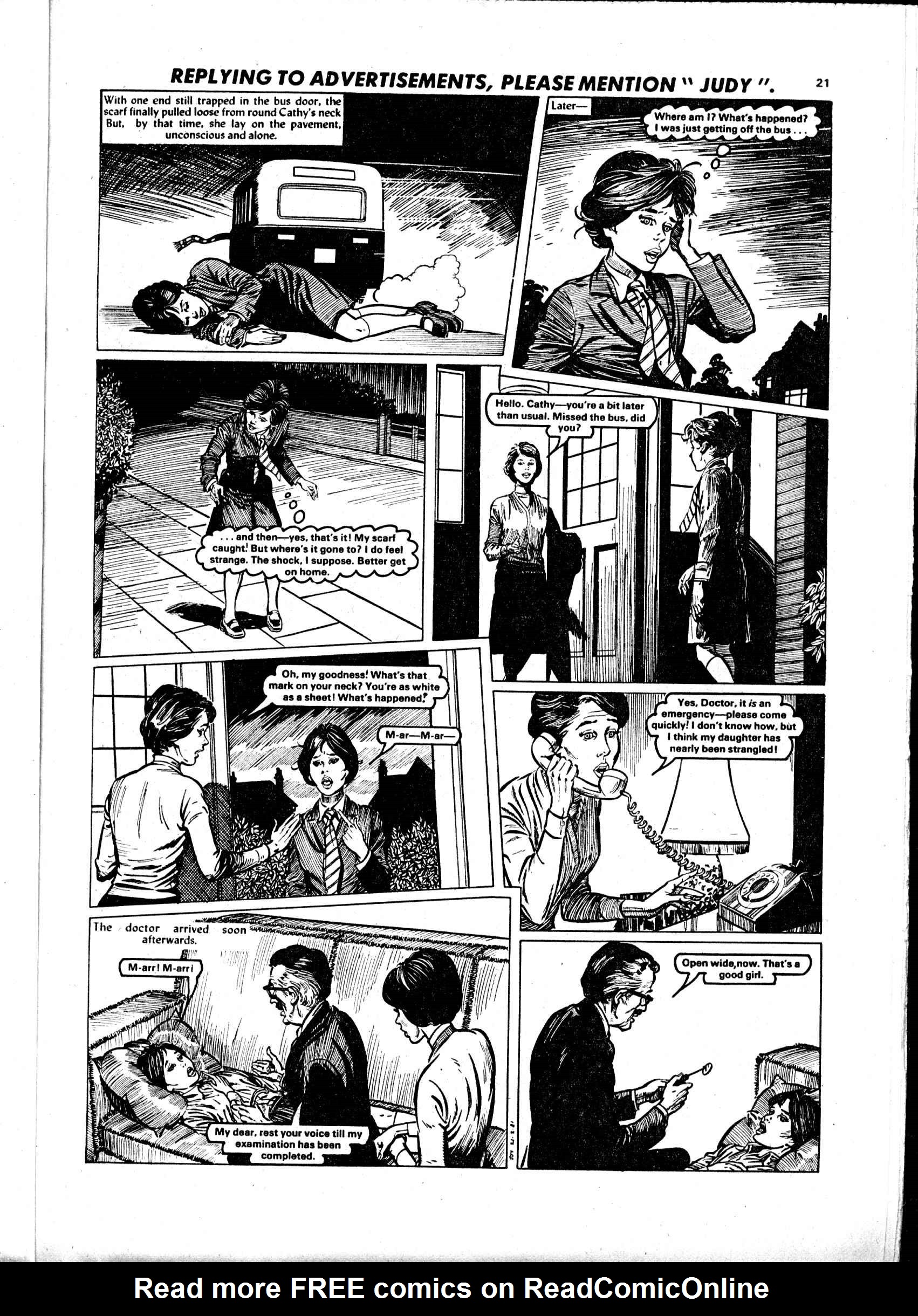 Read online Judy comic -  Issue #1102 - 21