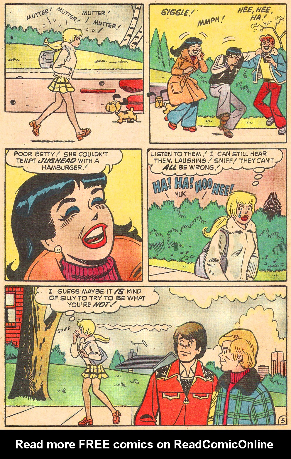 Read online Archie's Girls Betty and Veronica comic -  Issue #220 - 7