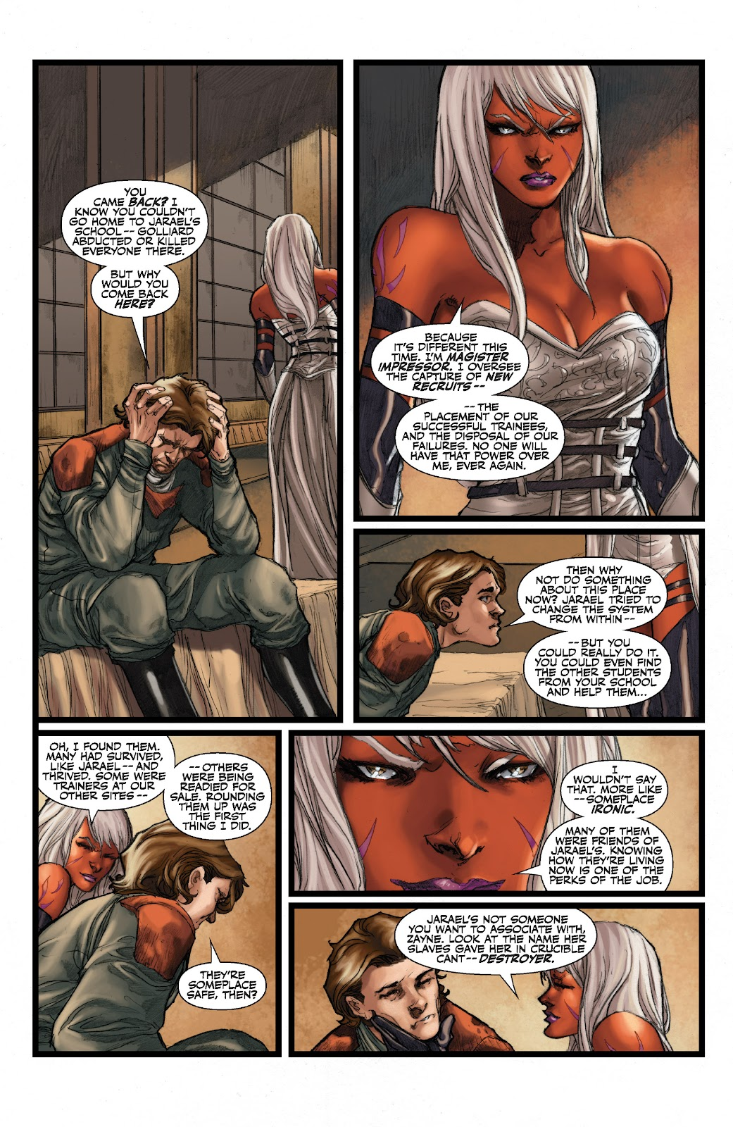 Read online Star Wars Legends: The Old Republic - Epic Collection comic -  Issue # TPB 3 (Part 2) - 97