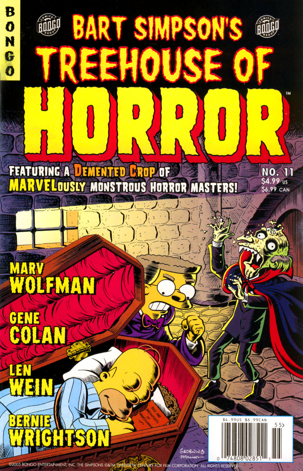 Read online Treehouse of Horror comic -  Issue #11 - 3