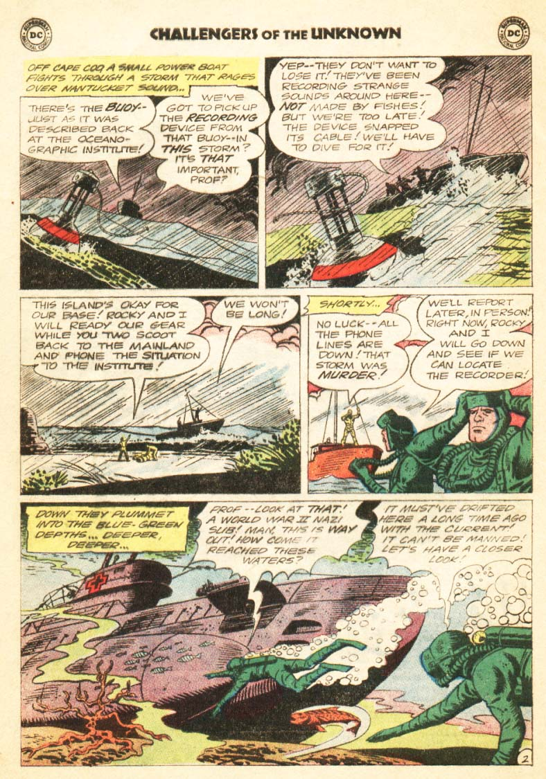 Challengers of the Unknown (1958) 34 Page 3